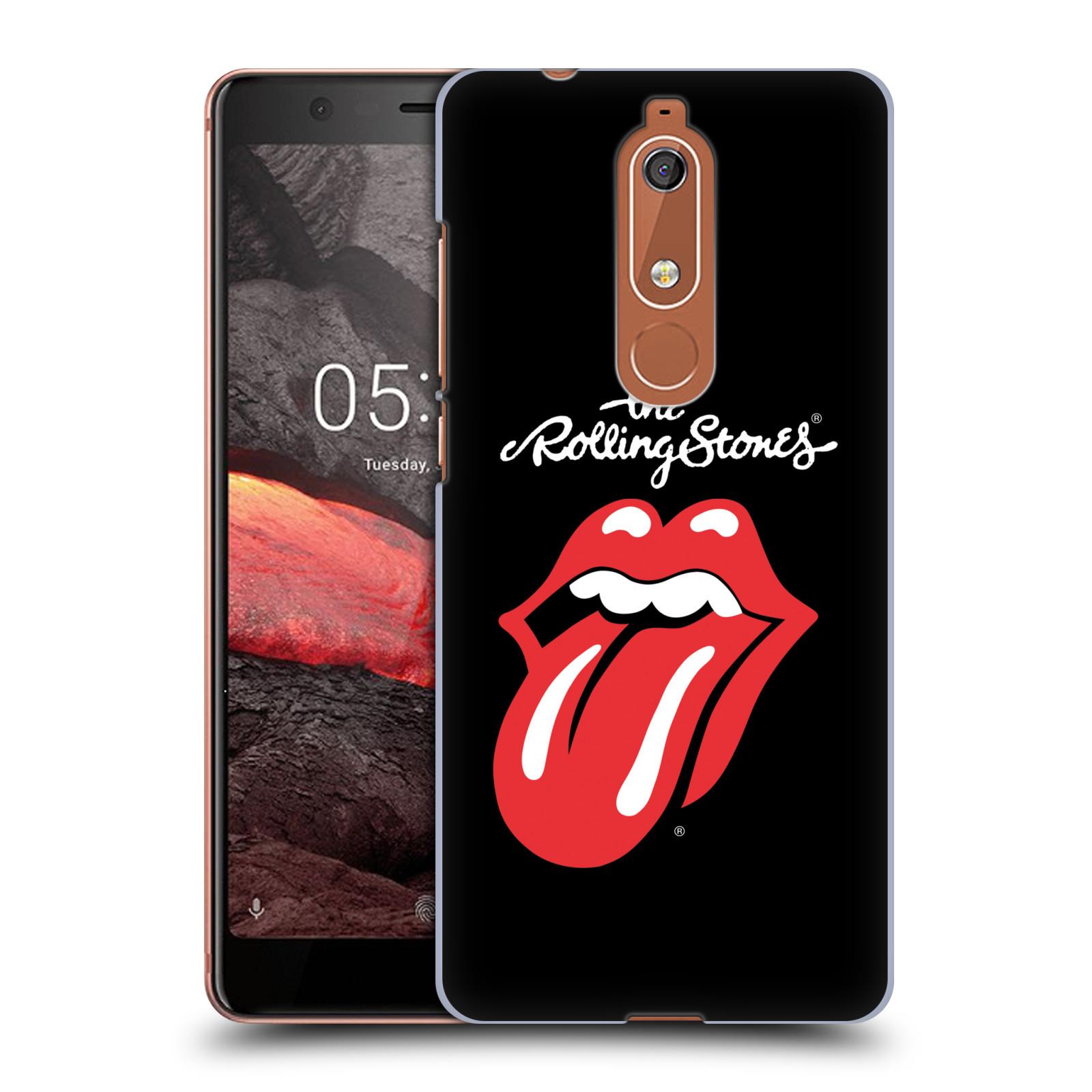 Plastové pouzdro na mobil Nokia 5.1 - Head Case - The Rolling Stones - Classic Lick