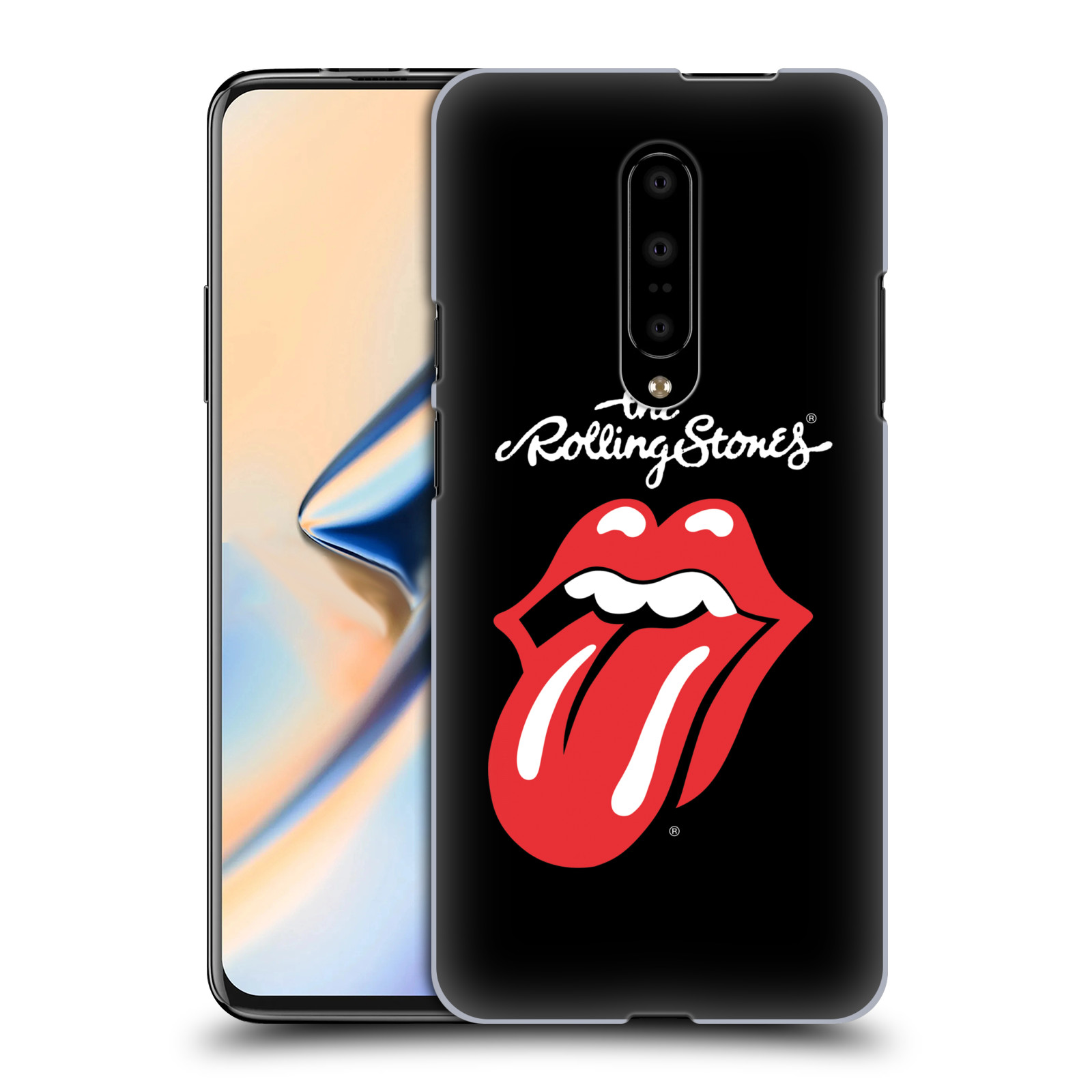 Plastové pouzdro na mobil OnePlus 7 - Head Case - The Rolling Stones - Classic Lick