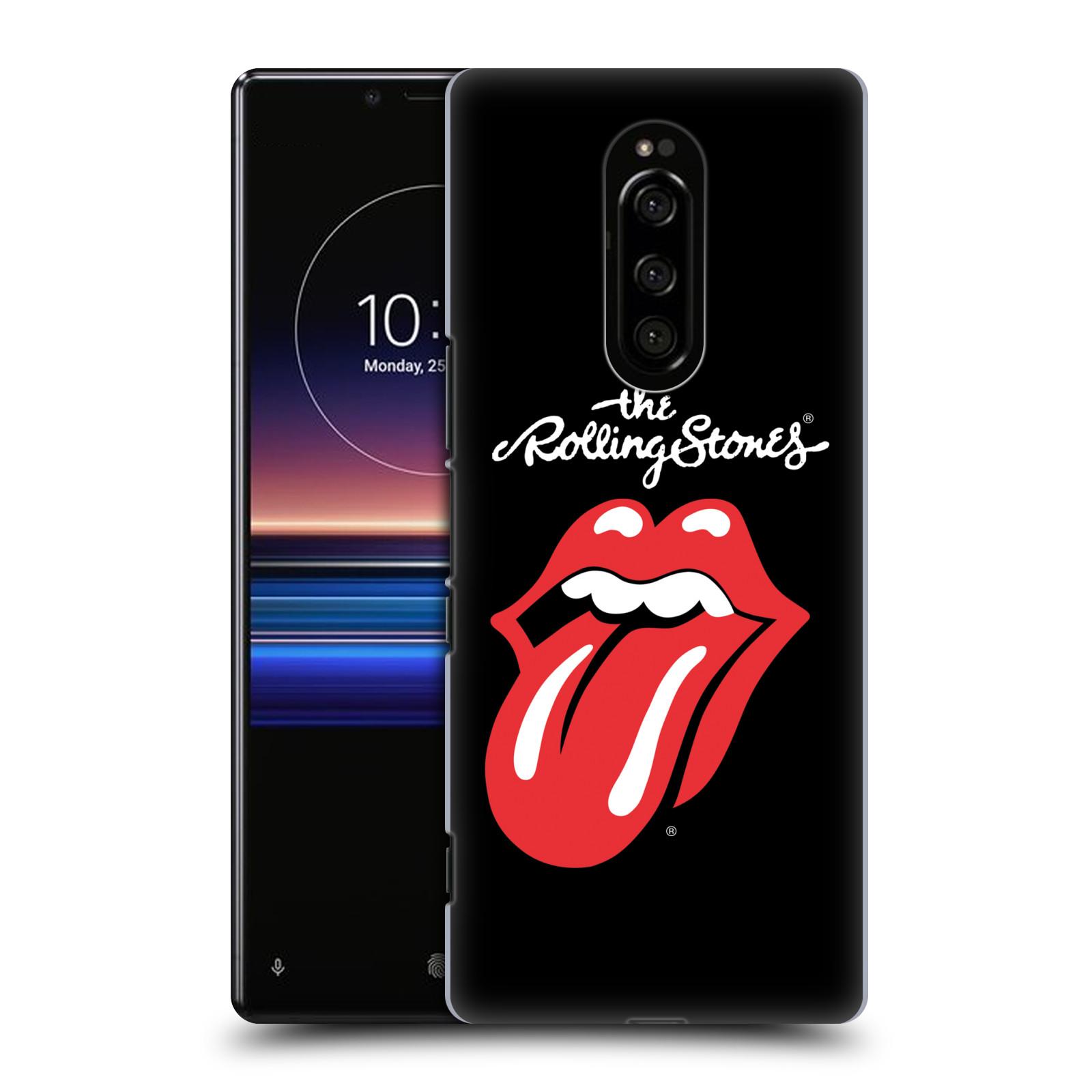Plastové pouzdro na mobil Sony Xperia 1 - Head Case - The Rolling Stones - Classic Lick