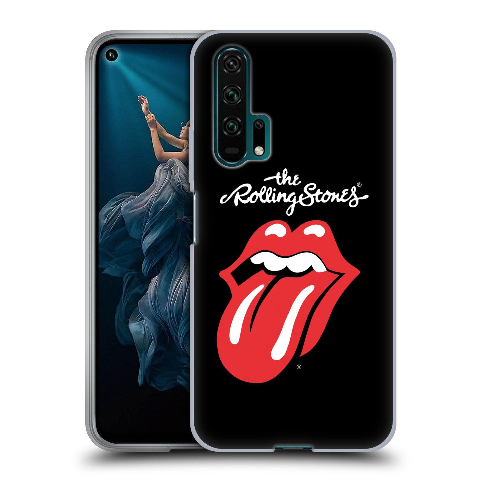 Silikonové pouzdro na mobil Honor 20 Pro - Head Case - The Rolling Stones - Classic Lick