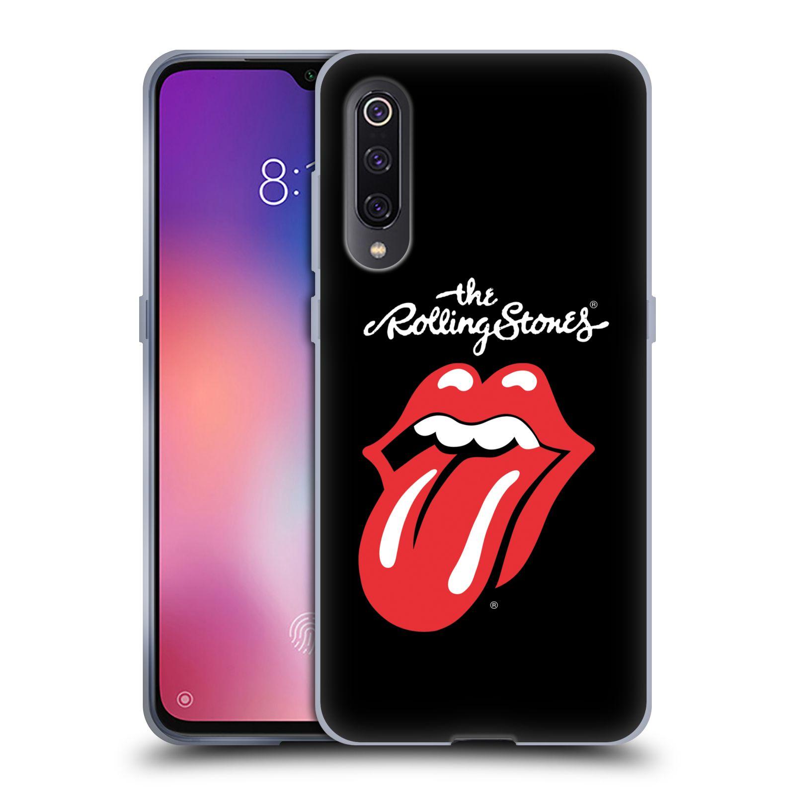 Silikonové pouzdro na mobil Xiaomi Mi 9 - Head Case - The Rolling Stones - Classic Lick