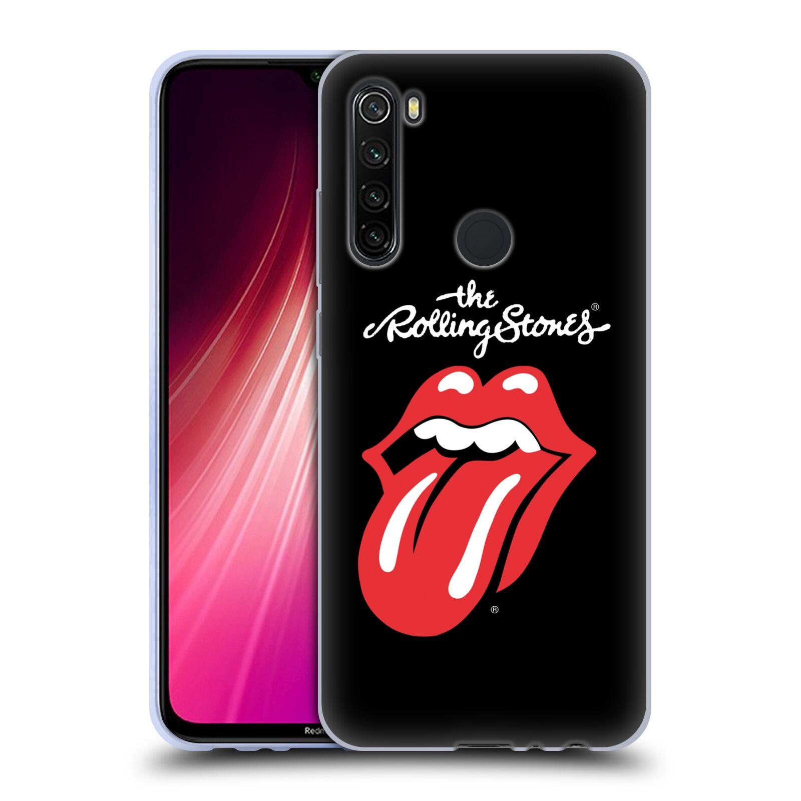 Silikonové pouzdro na mobil Xiaomi Redmi Note 8T - Head Case - The Rolling Stones - Classic Lick
