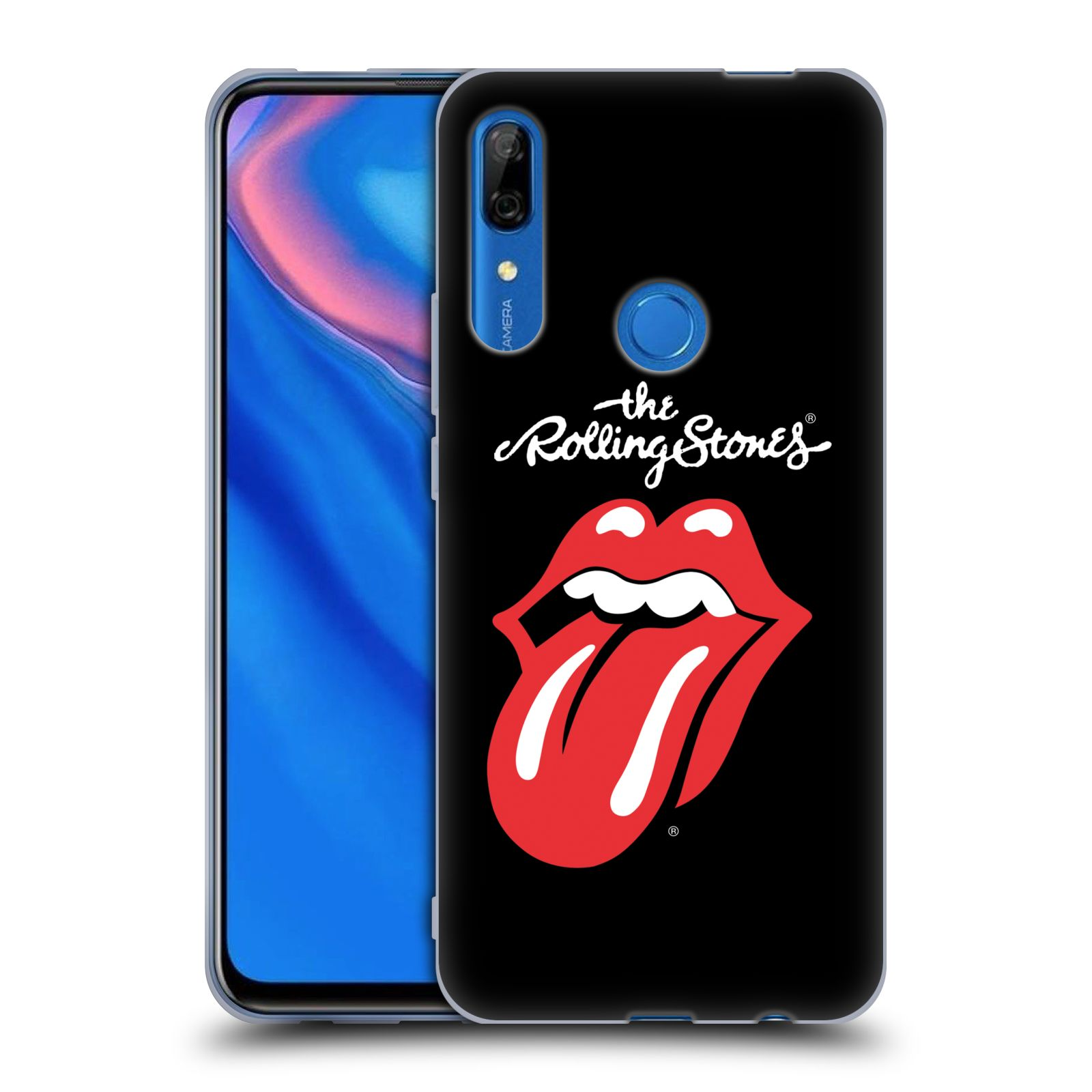 Silikonové pouzdro na mobil Honor 9X - Head Case - The Rolling Stones - Classic Lick