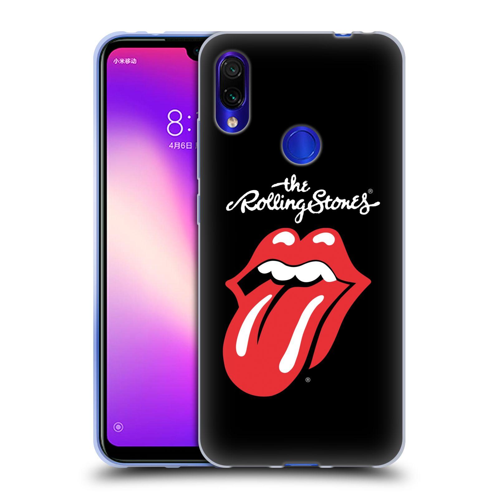 Silikonové pouzdro na mobil Xiaomi Redmi Note 7 - Head Case - The Rolling Stones - Classic Lick
