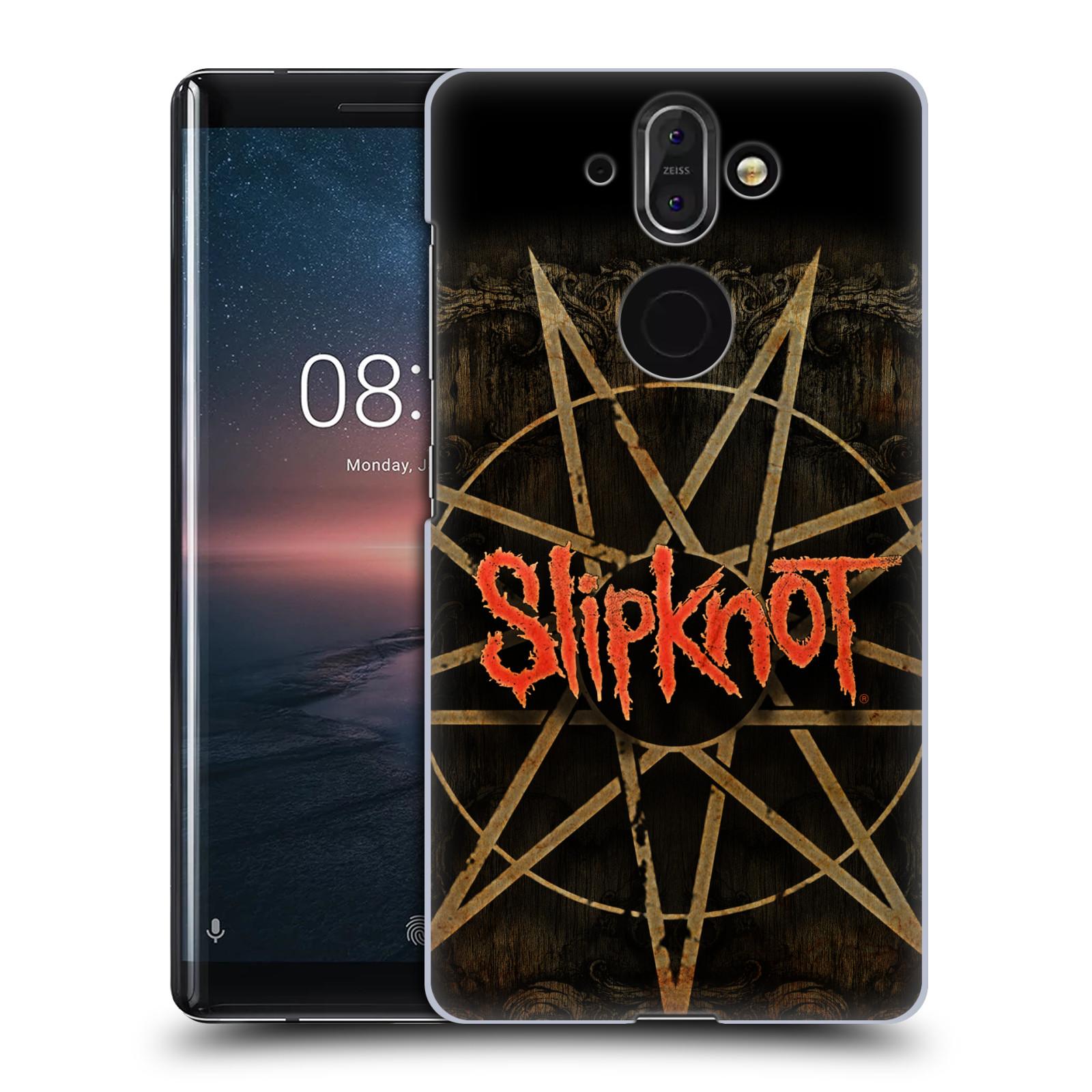 Plastové pouzdro na mobil Nokia 8 Sirocco - Head Case - Slipknot - Znak