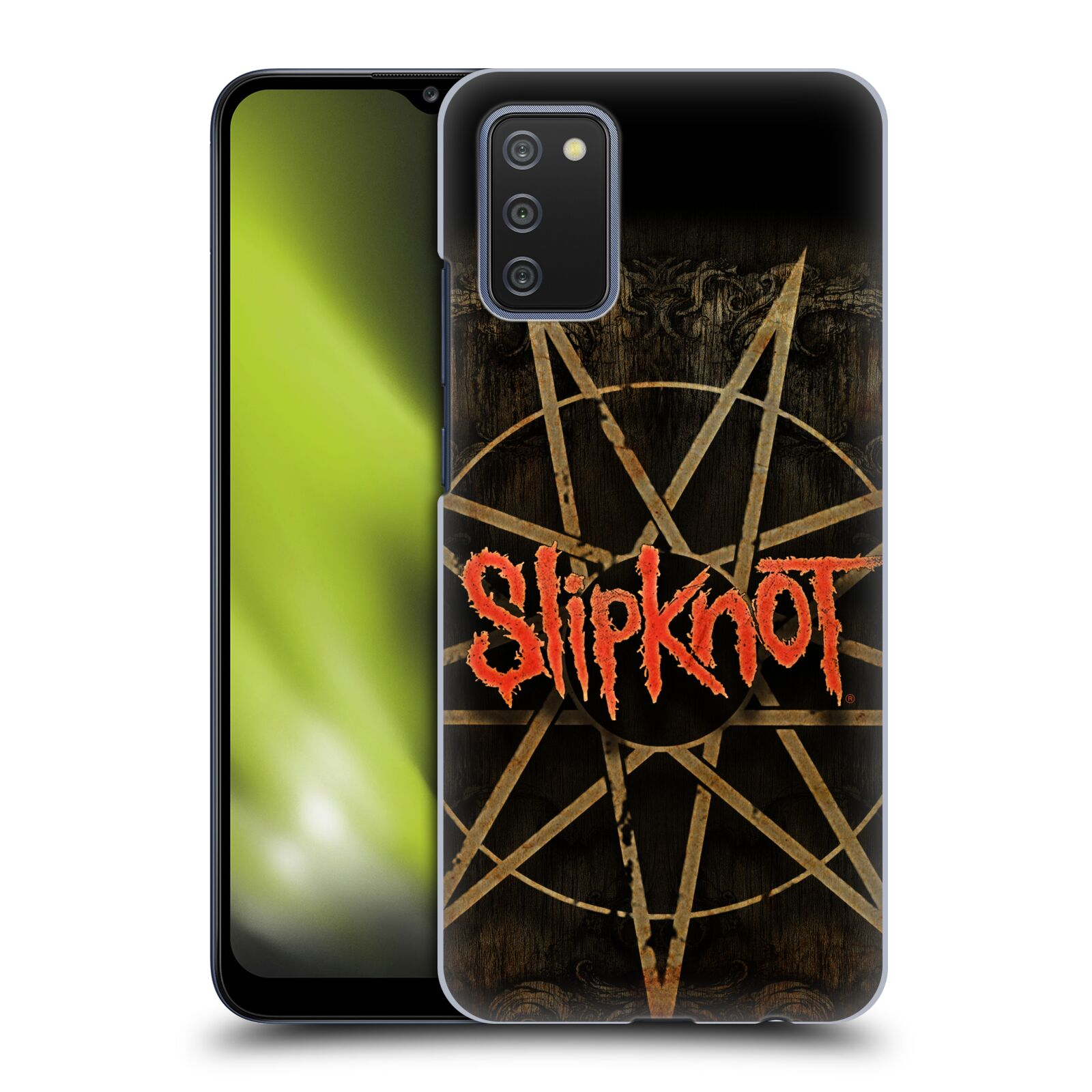 Plastové pouzdro na mobil Samsung Galaxy A02s - Head Case - Slipknot - Znak