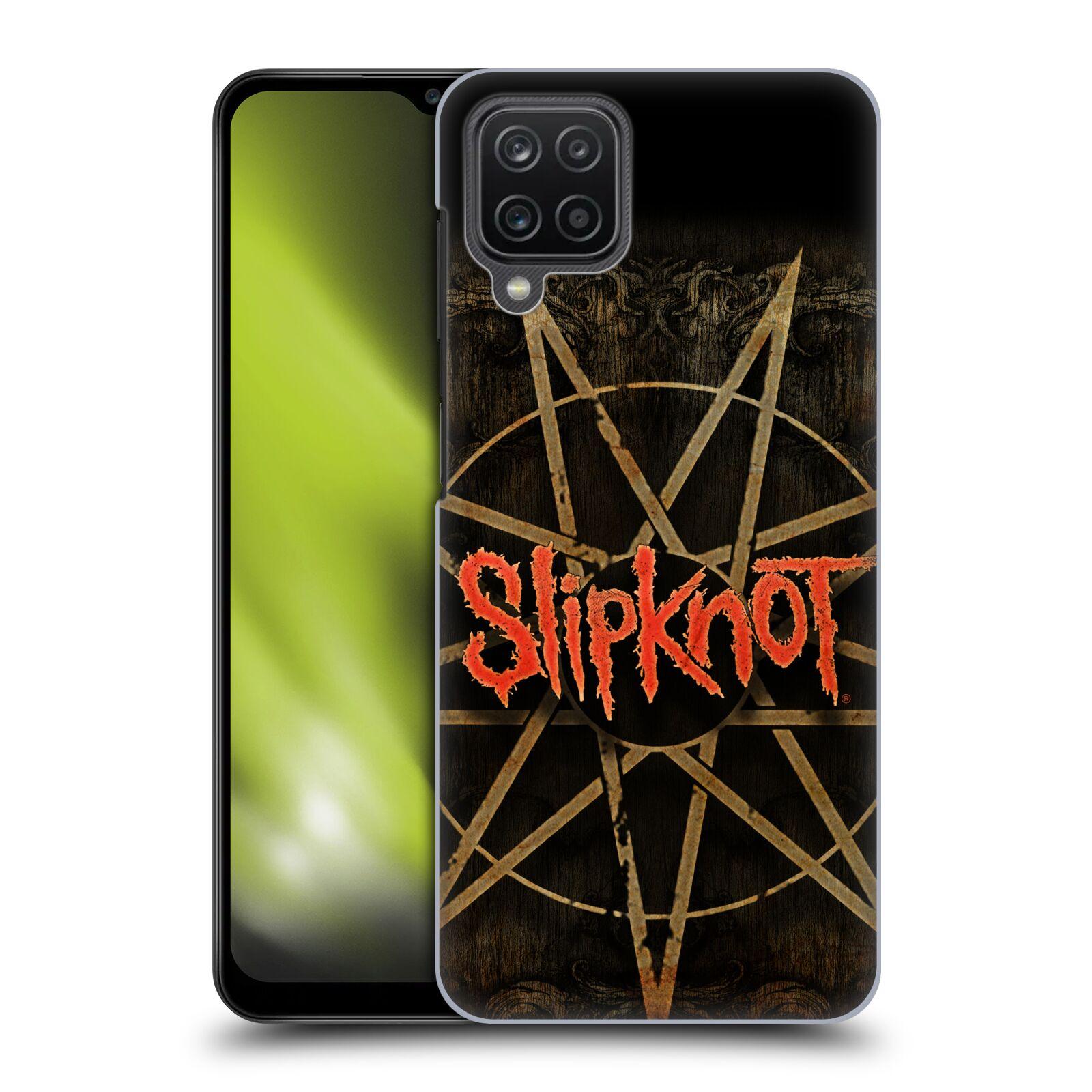 Plastové pouzdro na mobil Samsung Galaxy A12 - Head Case - Slipknot - Znak