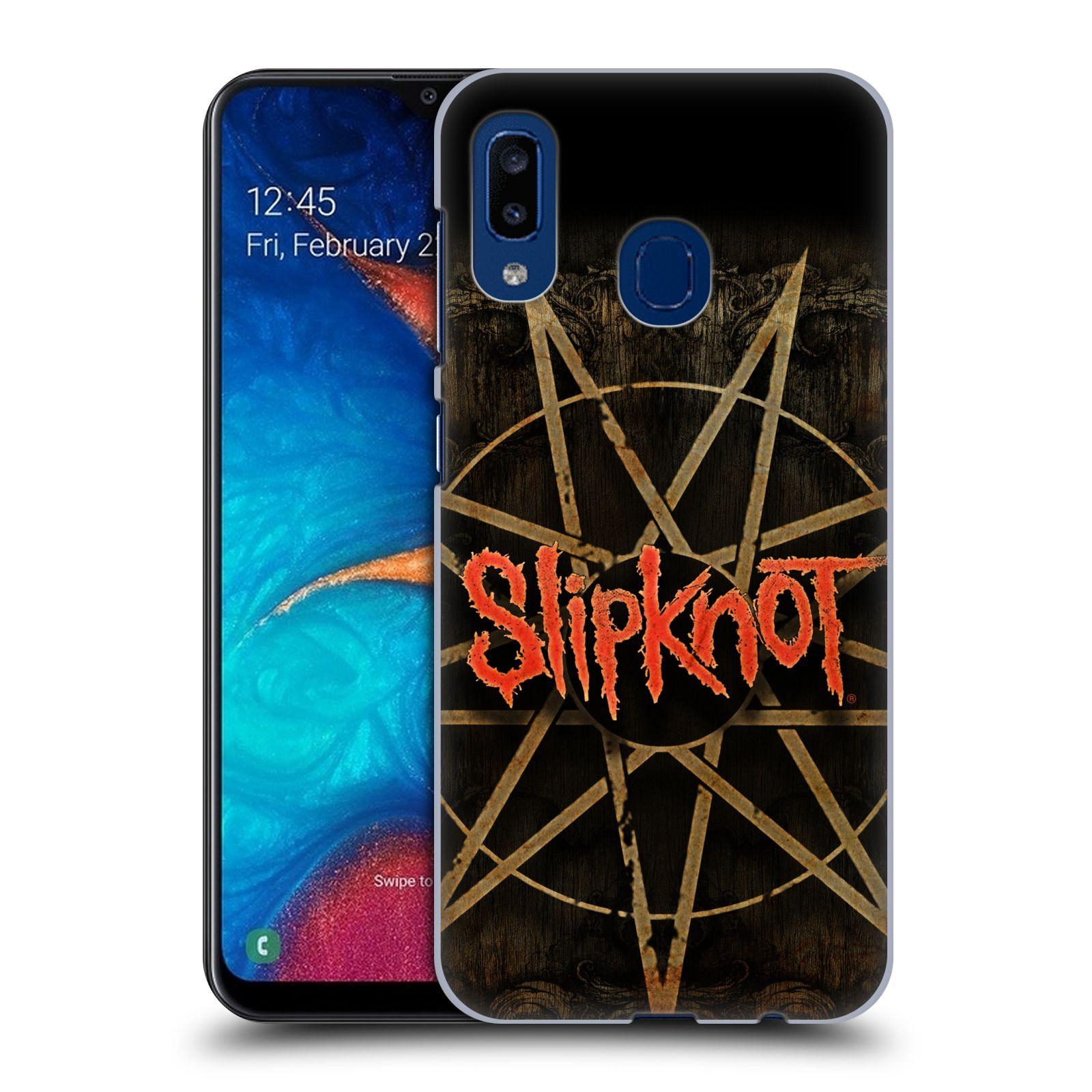 Plastové pouzdro na mobil Samsung Galaxy A20 - Head Case - Slipknot - Znak
