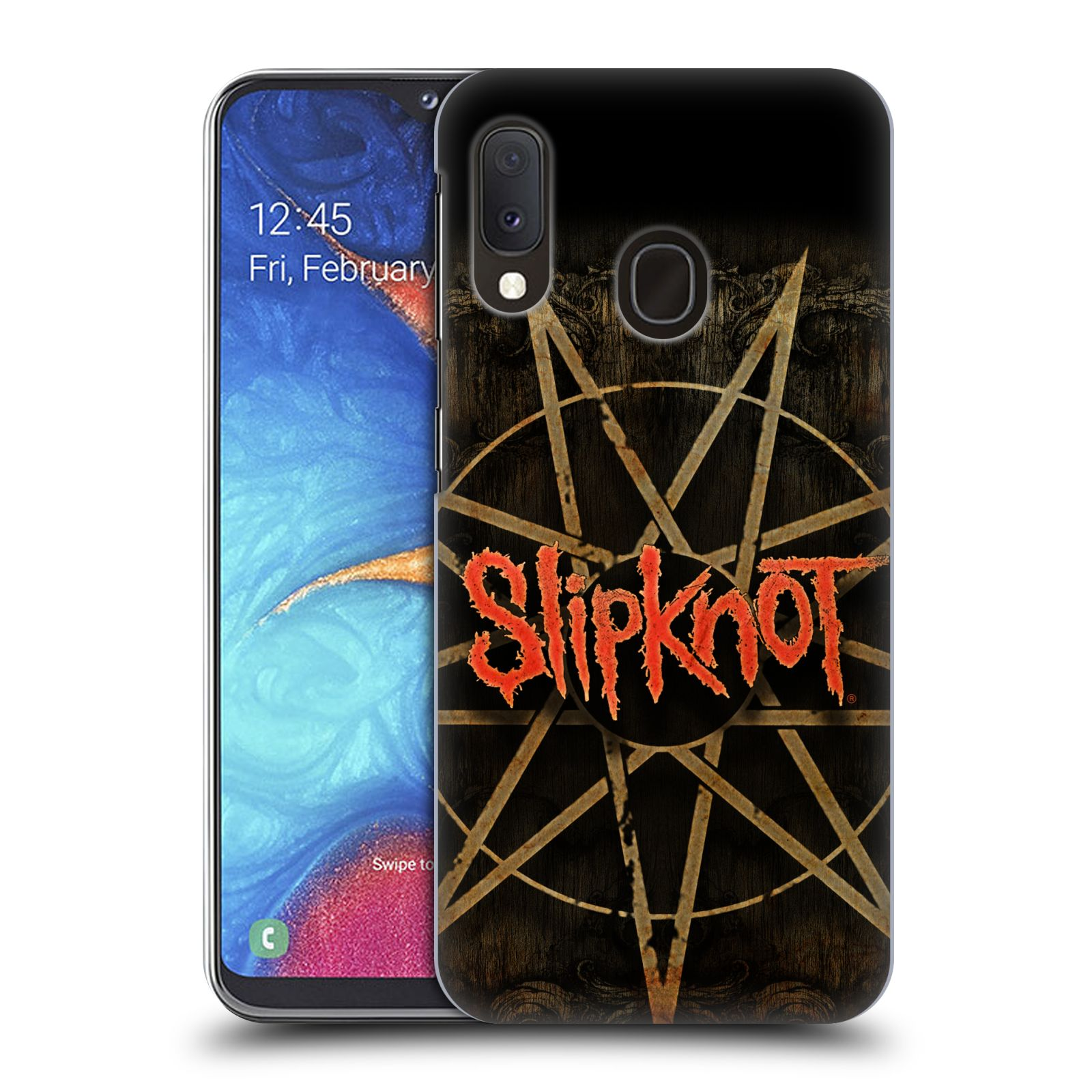 Plastové pouzdro na mobil Samsung Galaxy A20e - Head Case - Slipknot - Znak