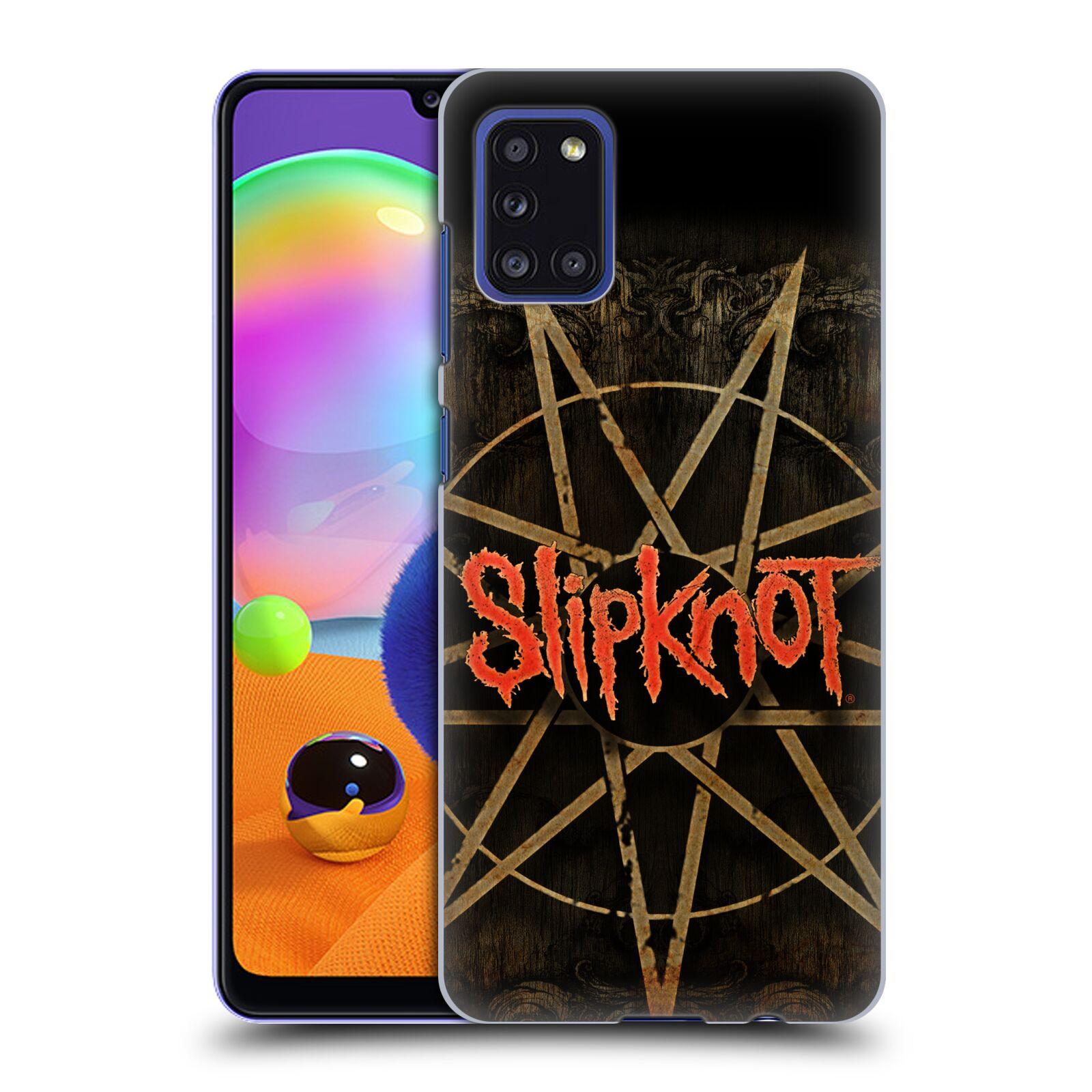 Plastové pouzdro na mobil Samsung Galaxy A31 - Head Case - Slipknot - Znak