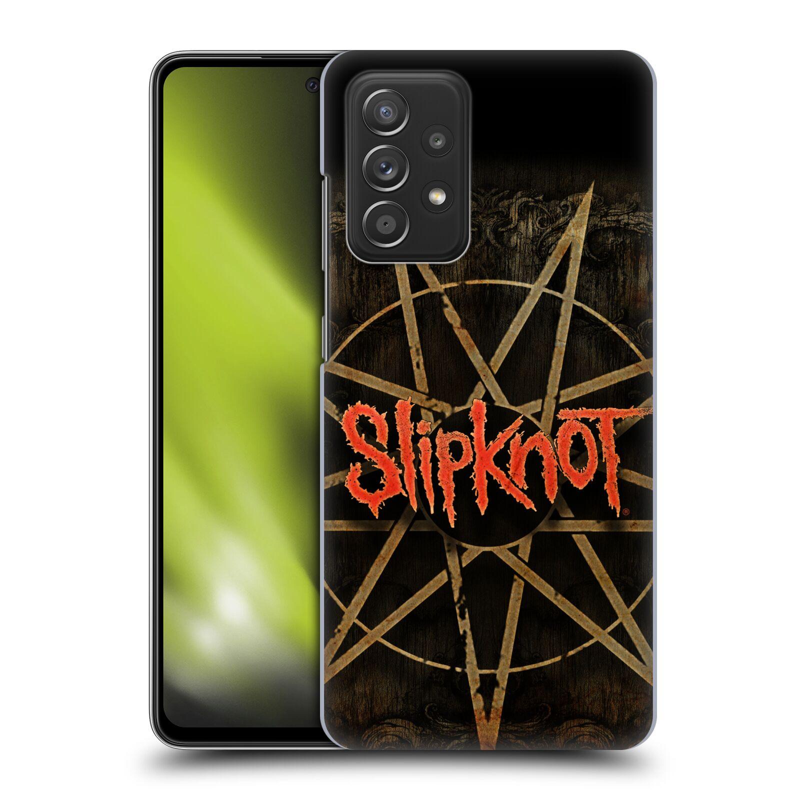 Plastové pouzdro na mobil Samsung Galaxy A52 / A52 5G / A52s 5G - Head Case - Slipknot - Znak