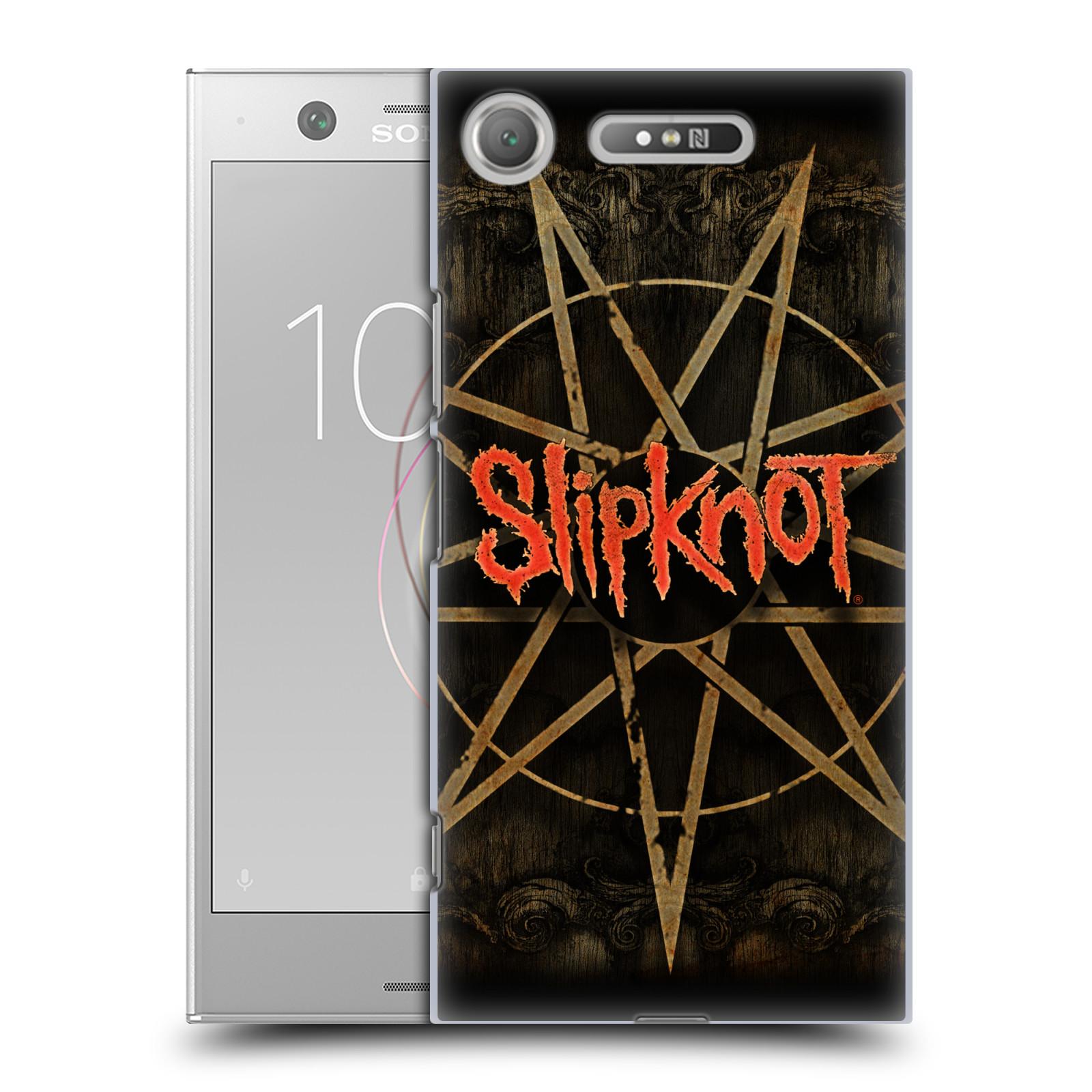 Plastové pouzdro na mobil Sony Xperia XZ1 - Head Case - Slipknot - Znak