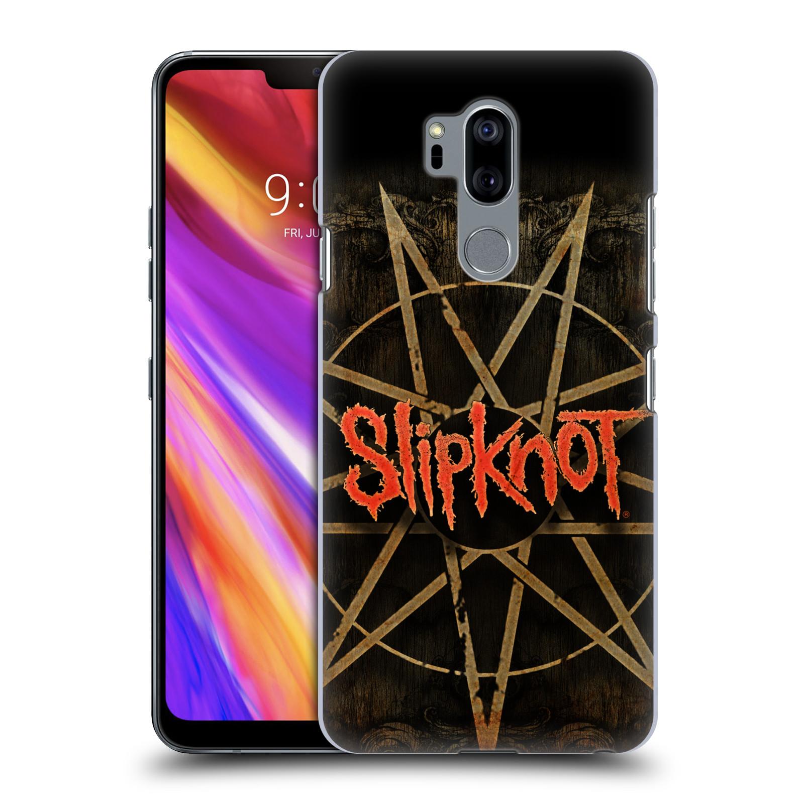 Plastové pouzdro na mobil LG G7 ThinQ - Head Case - Slipknot - Znak
