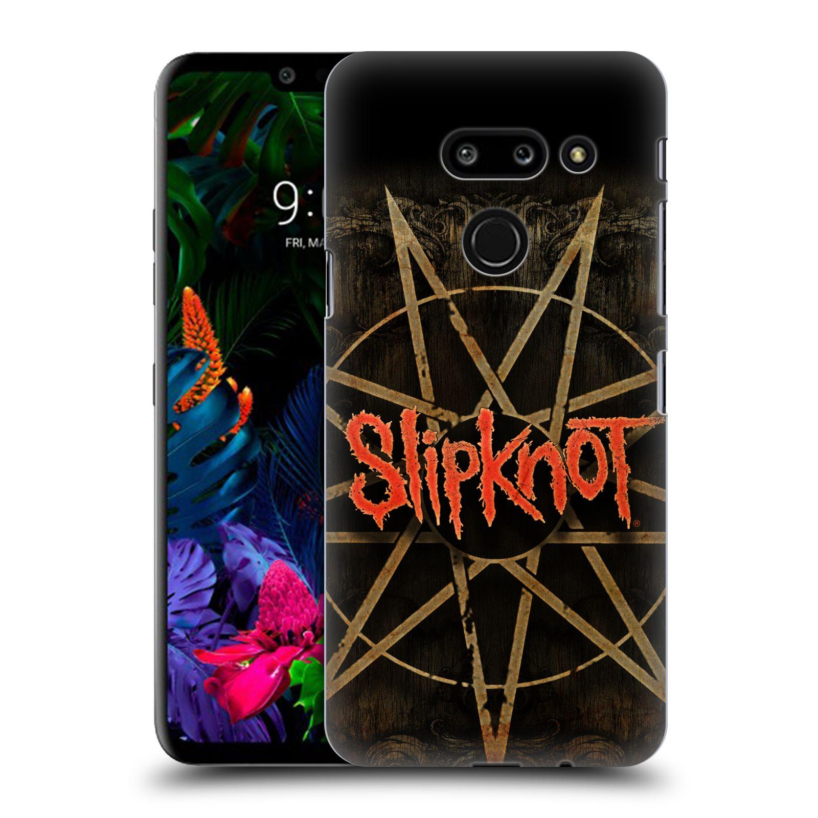 Plastové pouzdro na mobil LG G8 ThinQ - Head Case - Slipknot - Znak