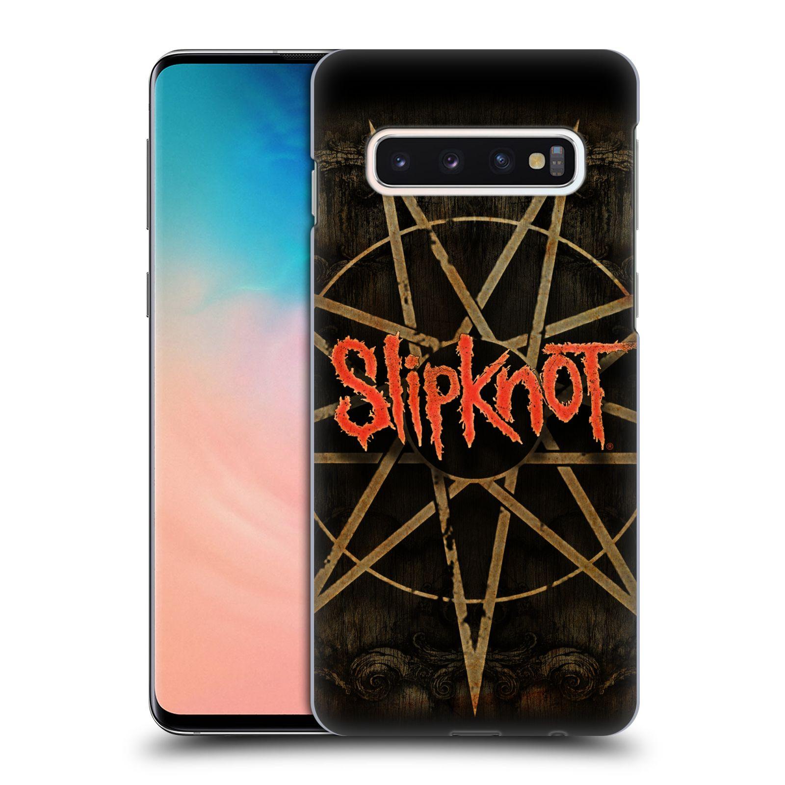 Plastové pouzdro na mobil Samsung Galaxy S10 - Head Case - Slipknot - Znak