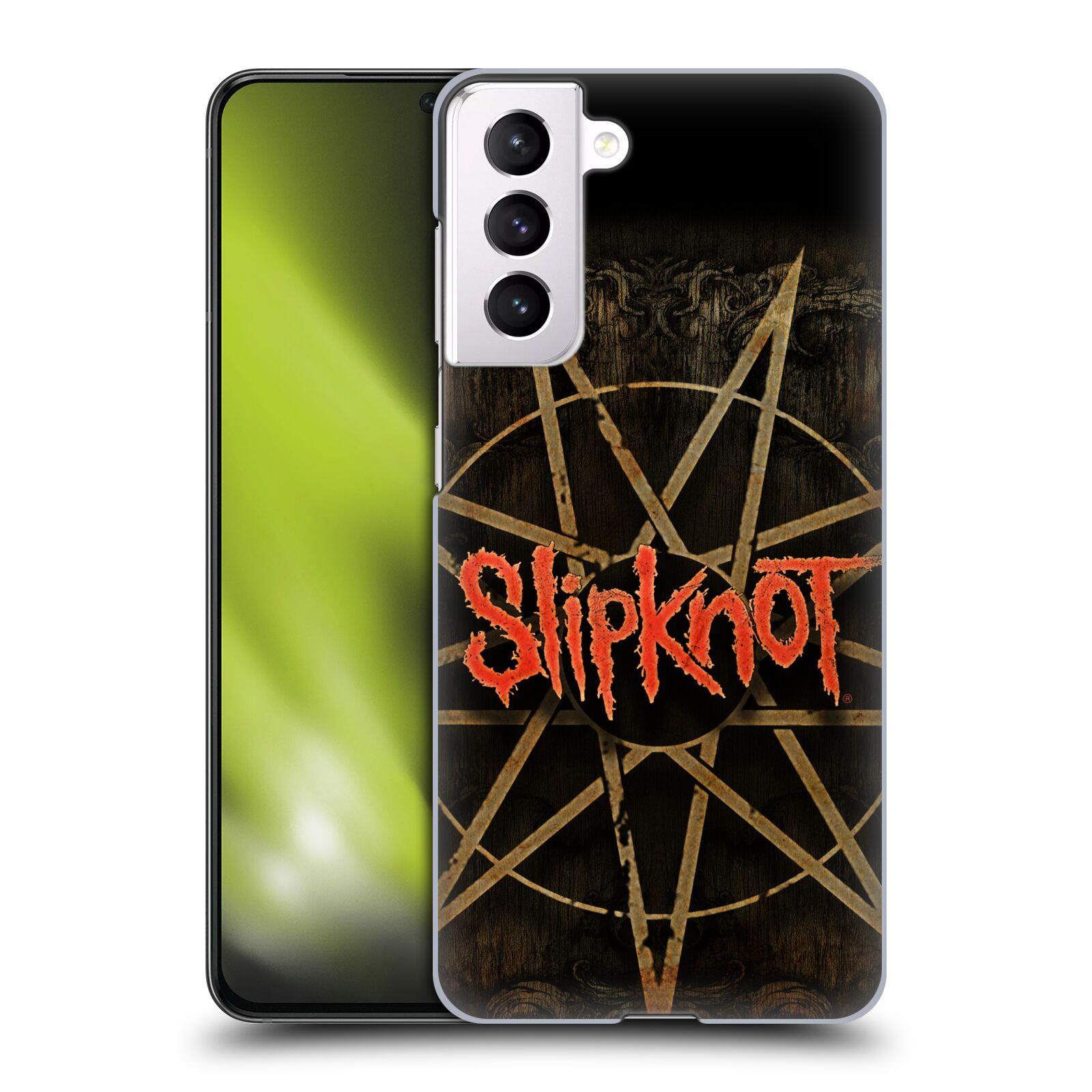 Plastové pouzdro na mobil Samsung Galaxy S21 5G - Head Case - Slipknot - Znak