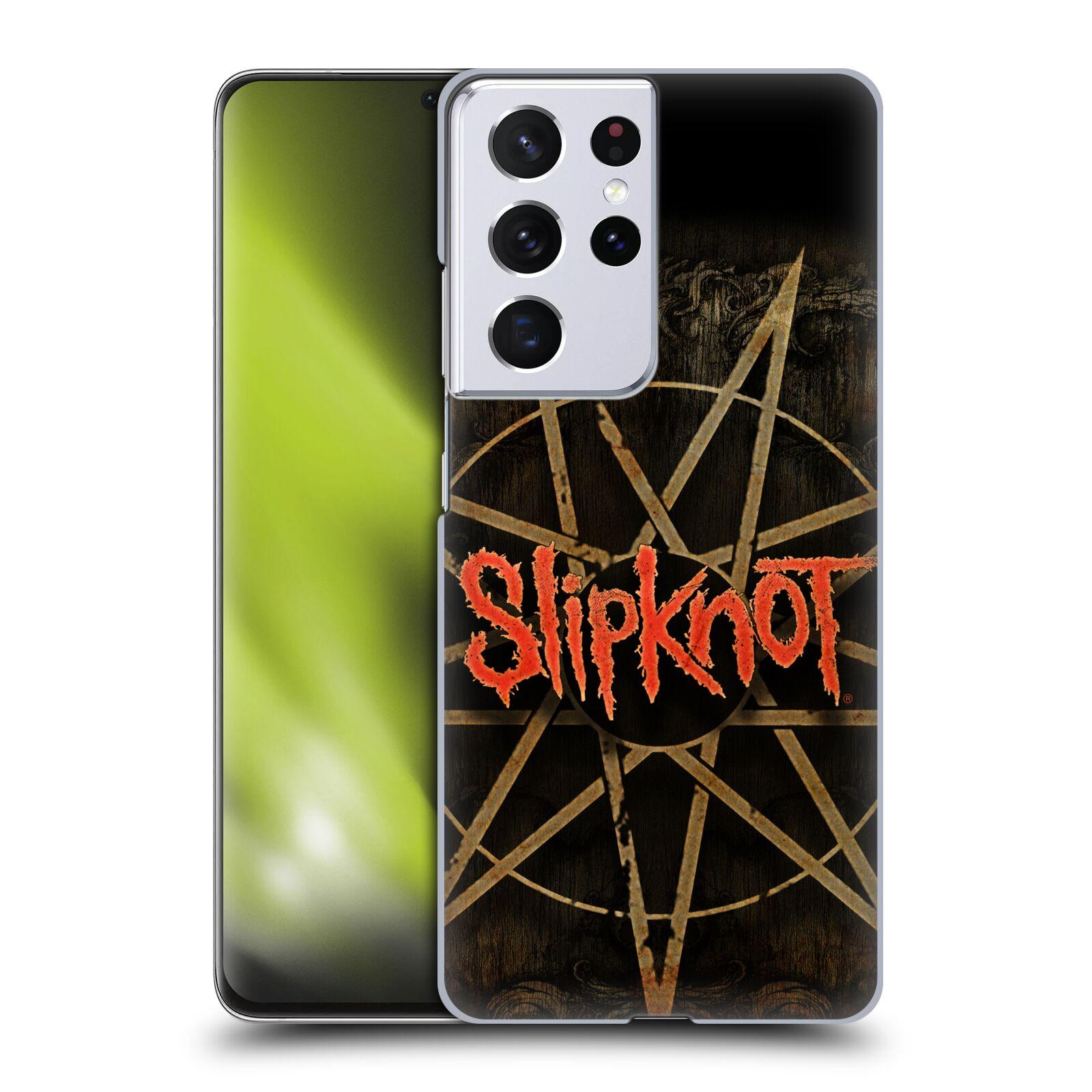 Plastové pouzdro na mobil Samsung Galaxy S21 Ultra 5G - Head Case - Slipknot - Znak