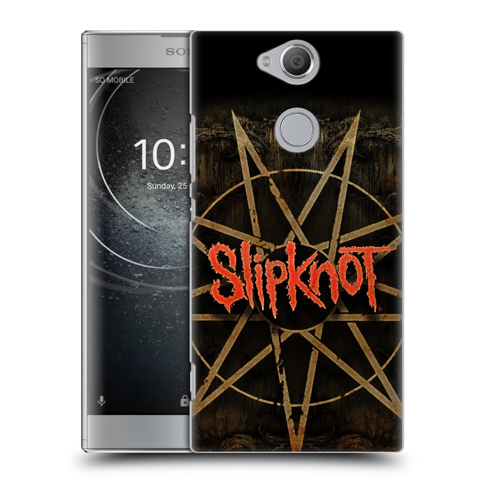 Plastové pouzdro na mobil Sony Xperia XA2 - Head Case - Slipknot - Znak