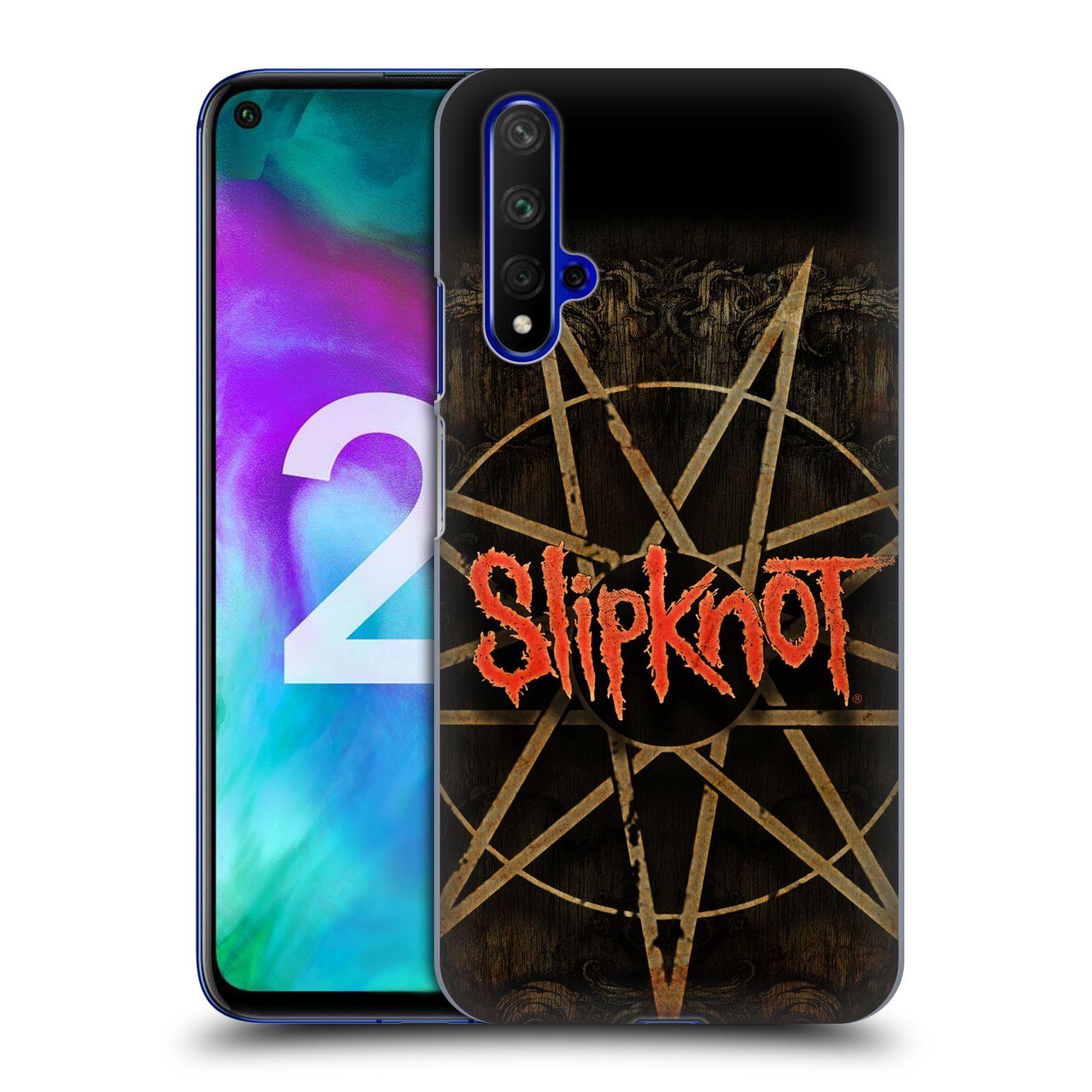 Plastové pouzdro na mobil Honor 20 - Head Case - Slipknot - Znak