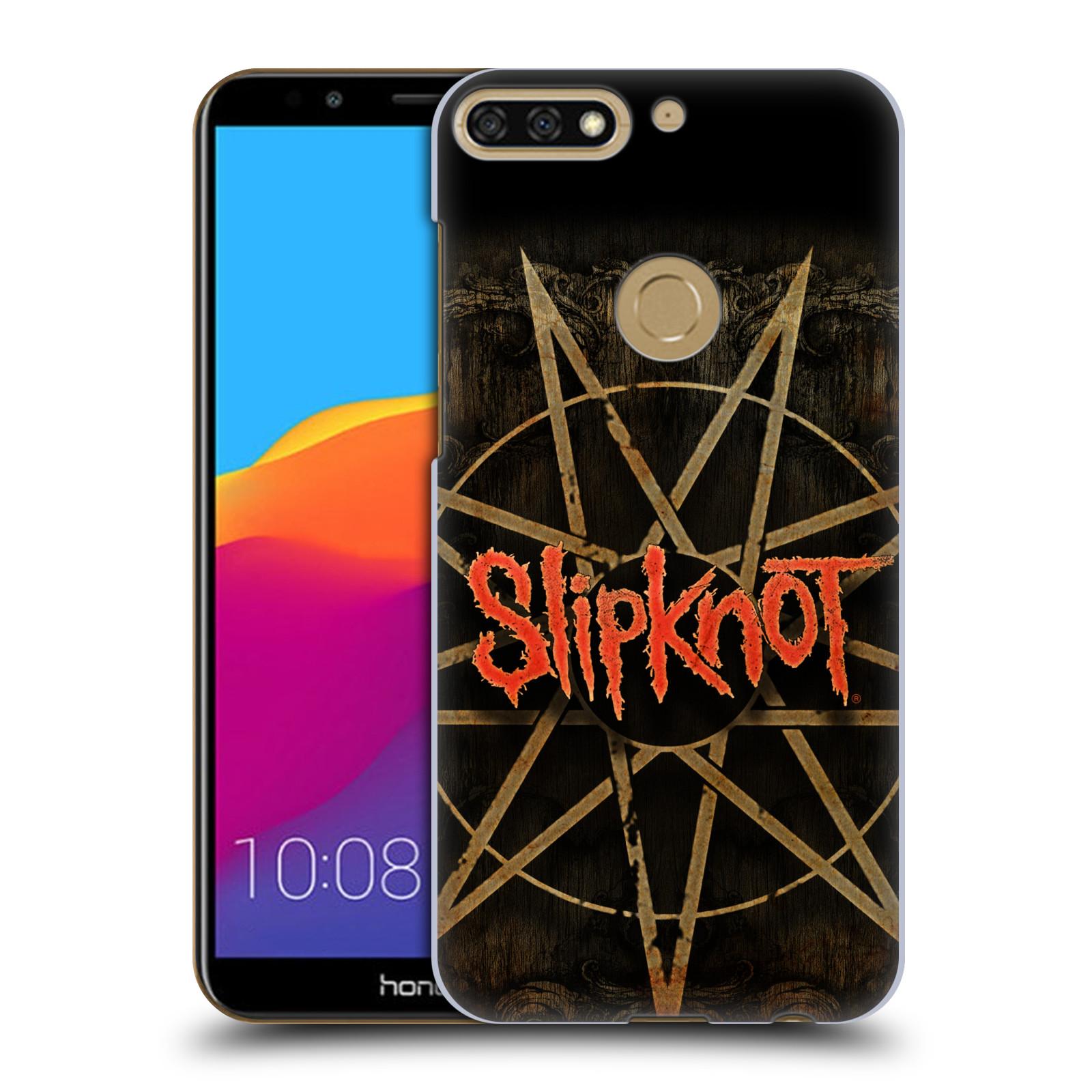 Plastové pouzdro na mobil Huawei Y7 Prime 2018 - Head Case - Slipknot - Znak