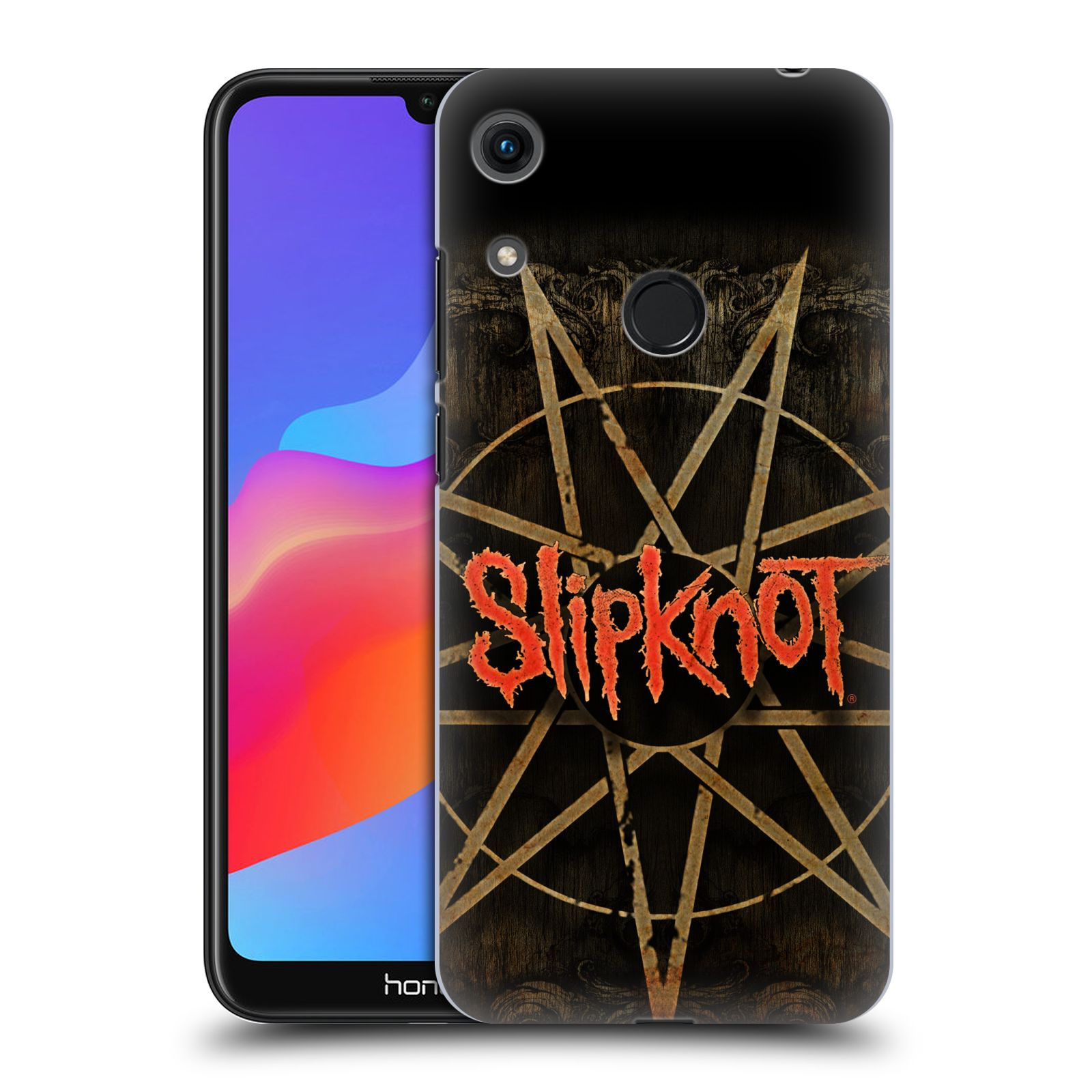 Plastové pouzdro na mobil Honor 8A - Head Case - Slipknot - Znak