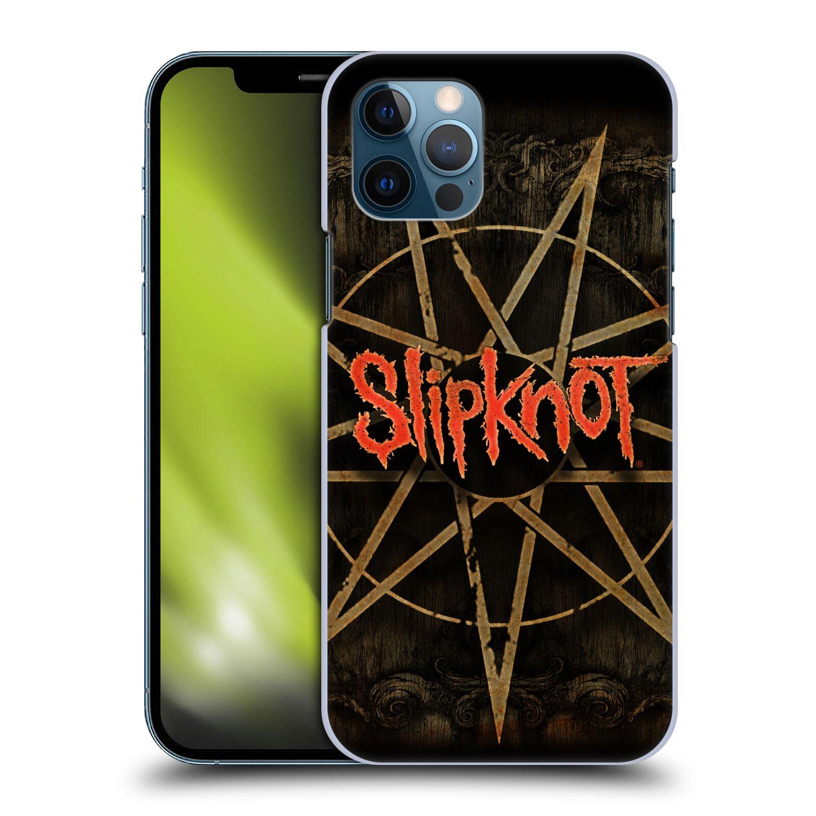 Plastové pouzdro na mobil Apple iPhone 12 / 12 Pro - Head Case - Slipknot - Znak