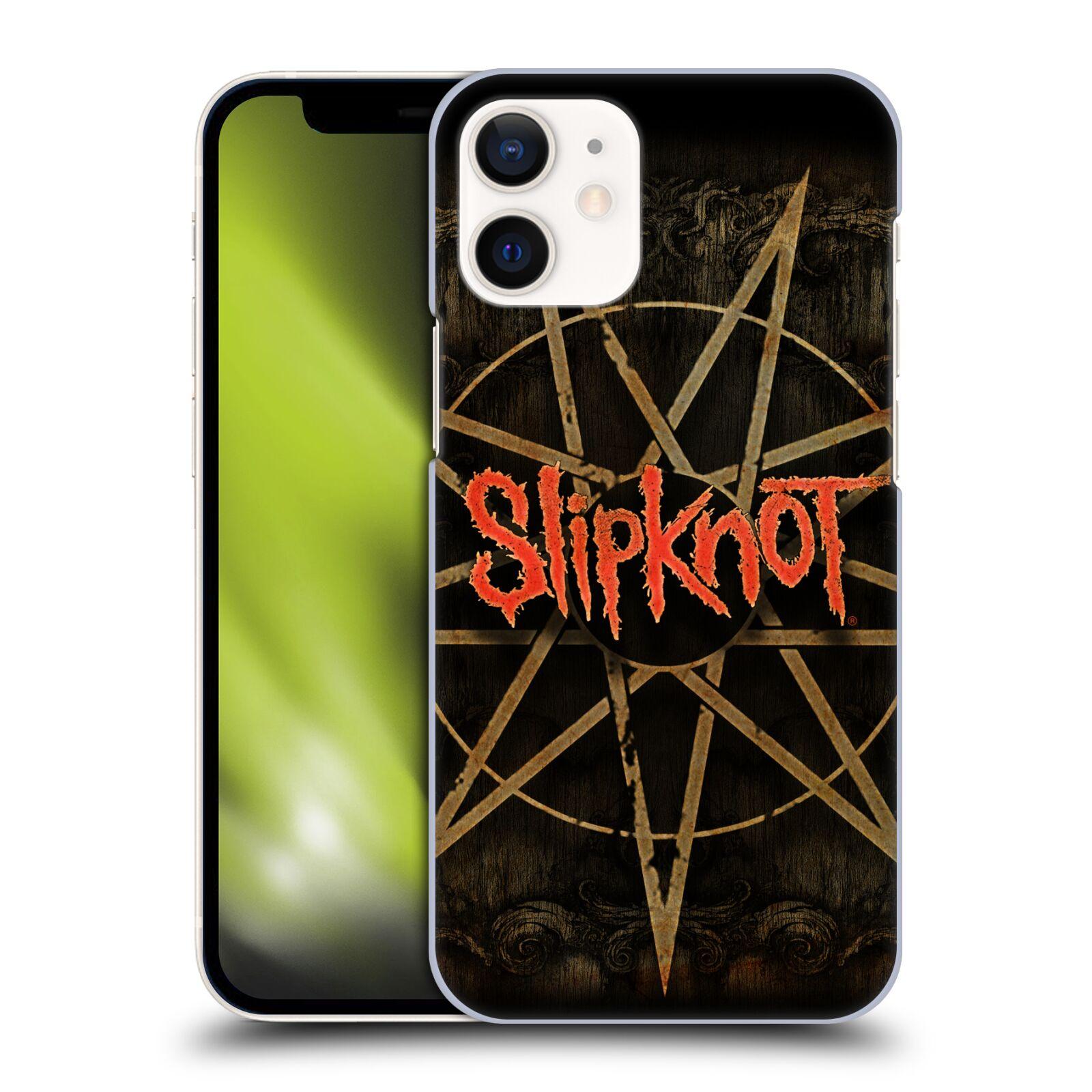 Plastové pouzdro na mobil Apple iPhone 12 Mini - Head Case - Slipknot - Znak