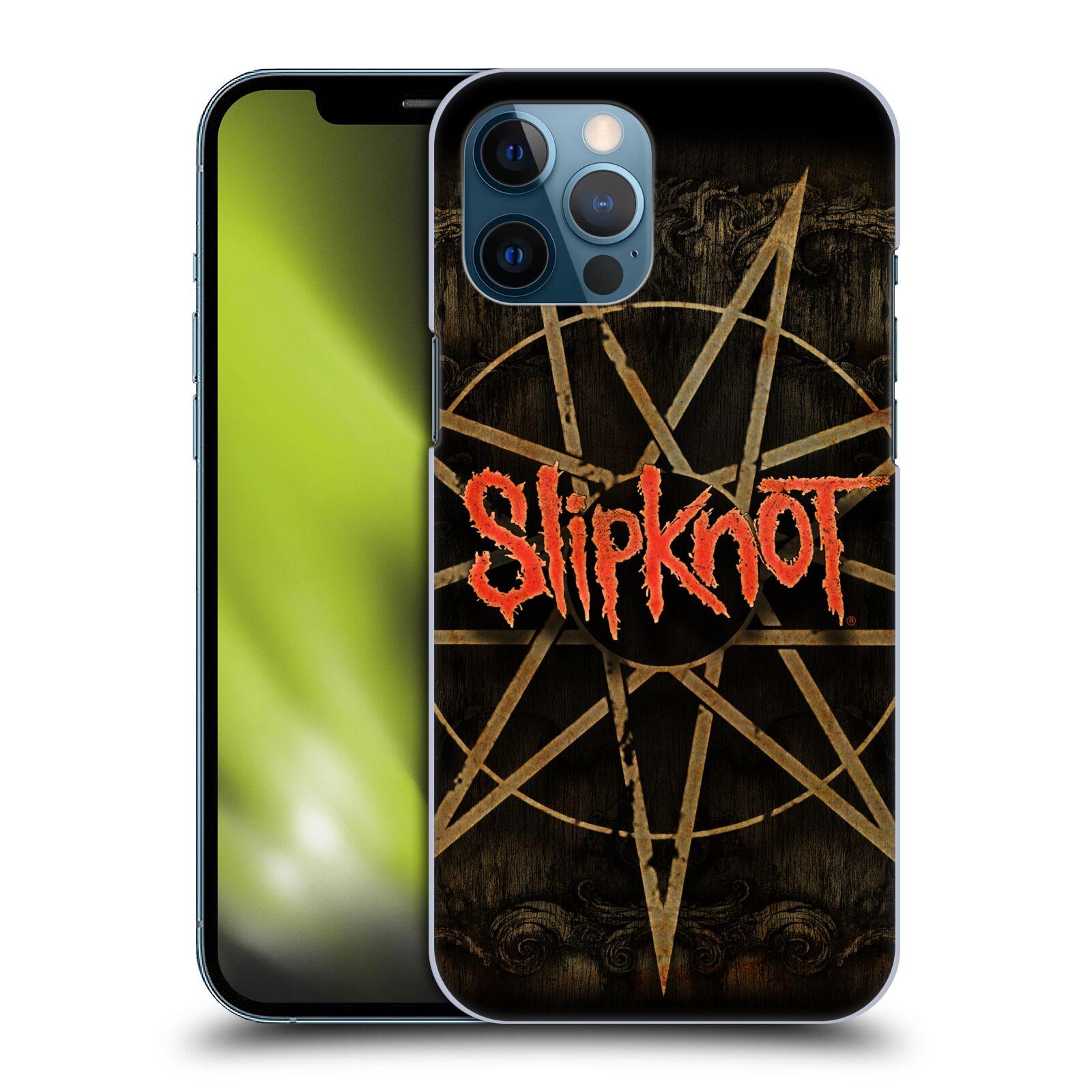 Plastové pouzdro na mobil Apple iPhone 12 Pro Max - Head Case - Slipknot - Znak