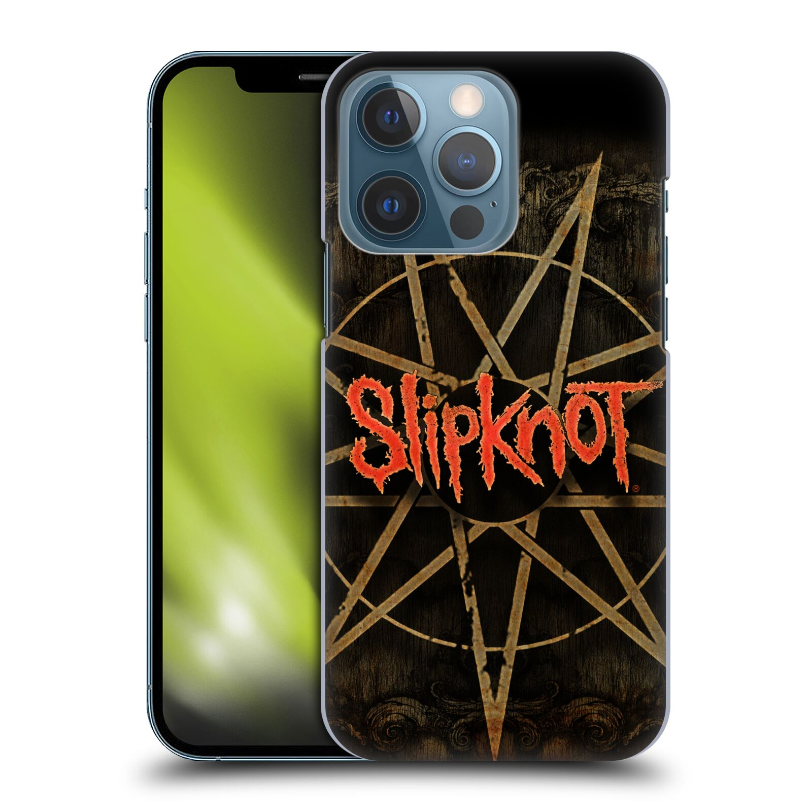 Plastové pouzdro na mobil Apple iPhone 13 Pro - Head Case - Slipknot - Znak