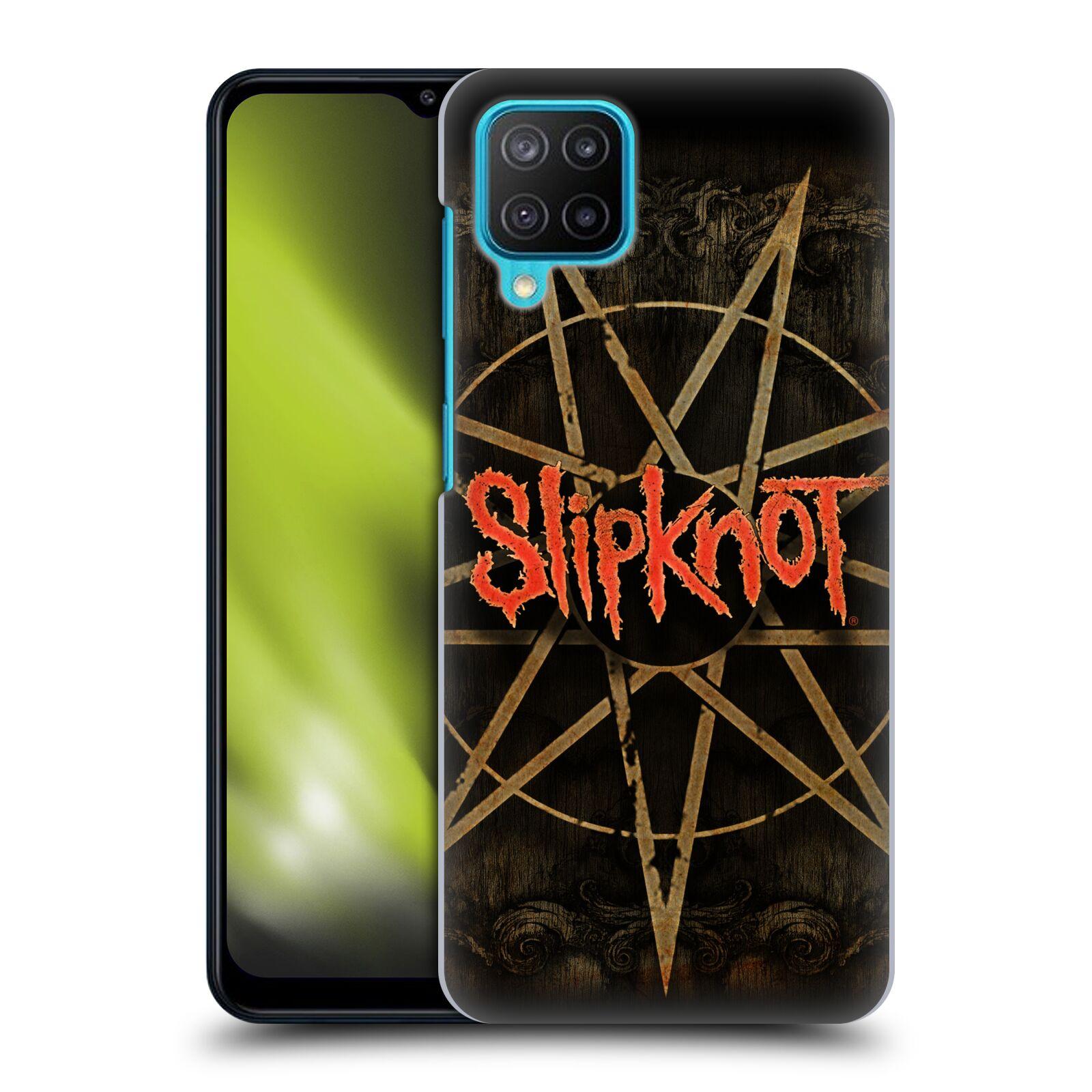 Plastové pouzdro na mobil Samsung Galaxy M12 - Head Case - Slipknot - Znak