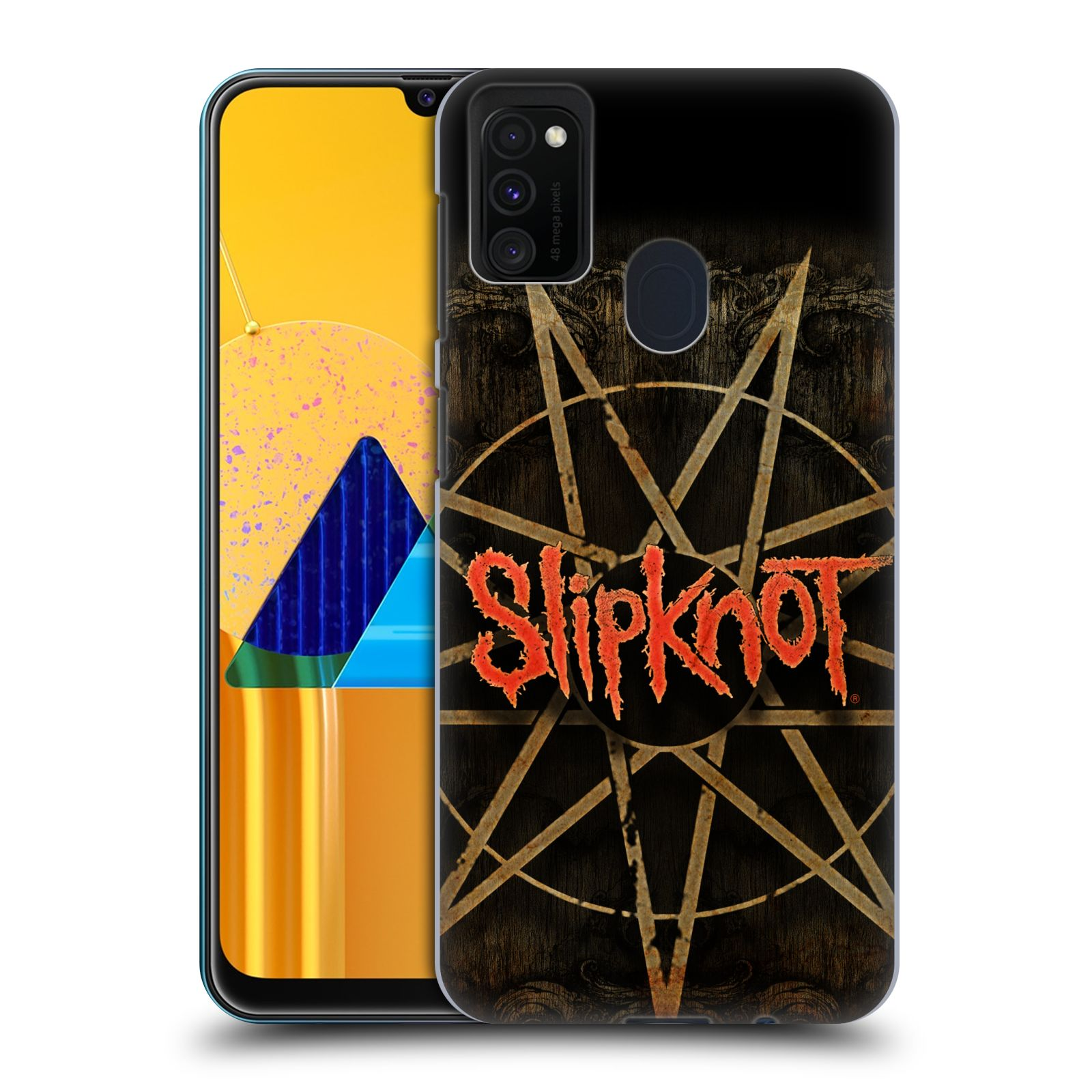 Plastové pouzdro na mobil Samsung Galaxy M21 - Head Case - Slipknot - Znak