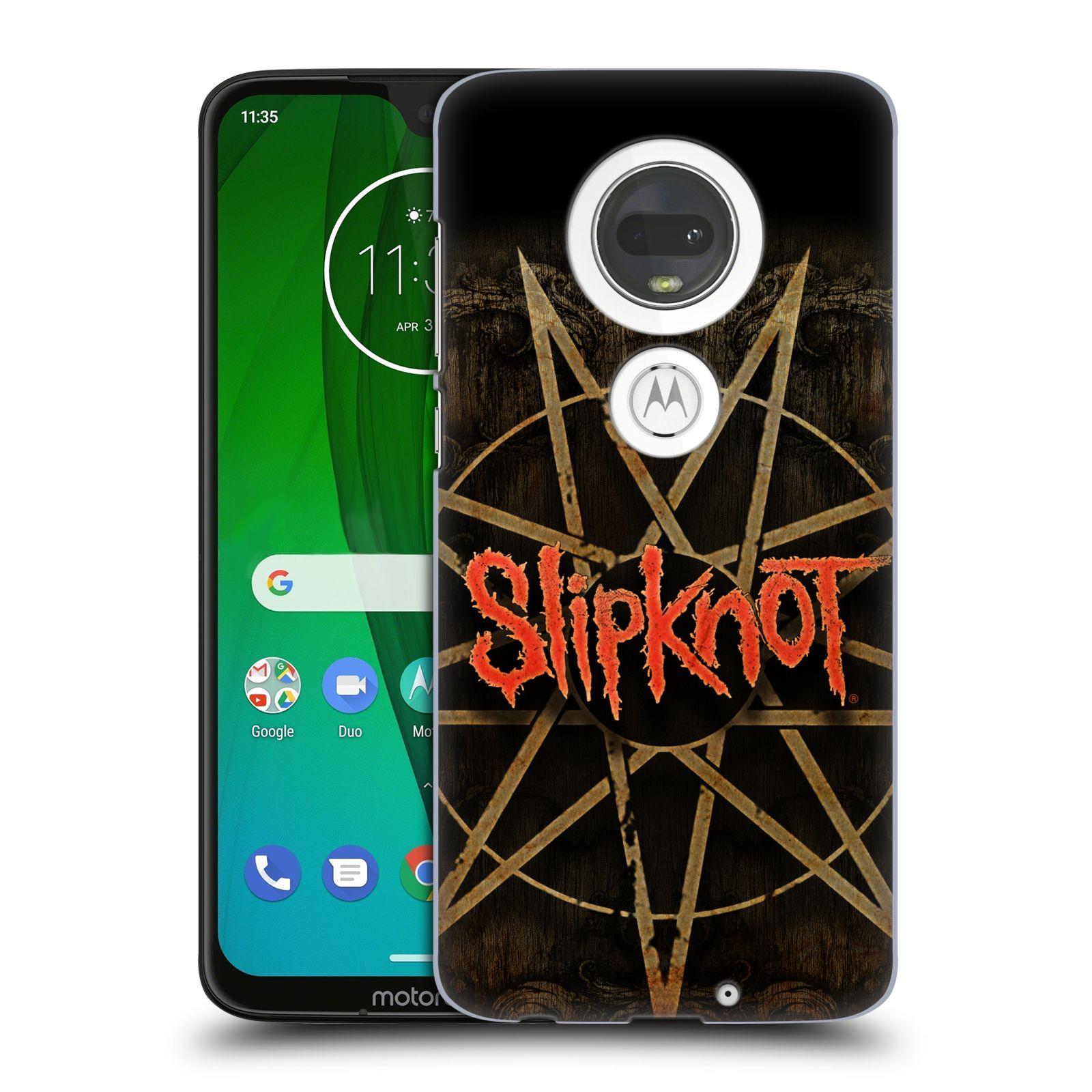 Plastové pouzdro na mobil Motorola Moto G7 - Head Case - Slipknot - Znak