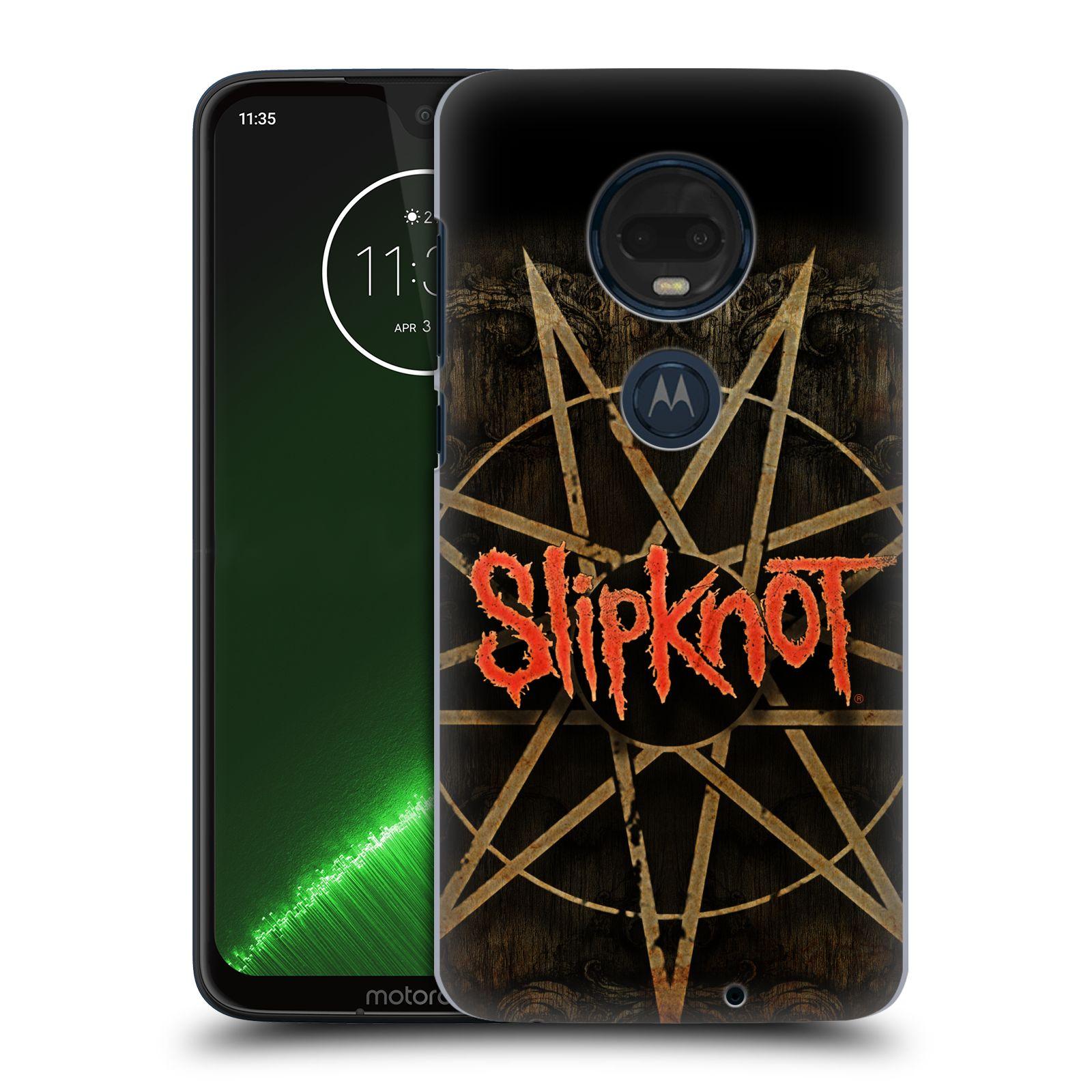 Plastové pouzdro na mobil Motorola Moto G7 Plus - Head Case - Slipknot - Znak