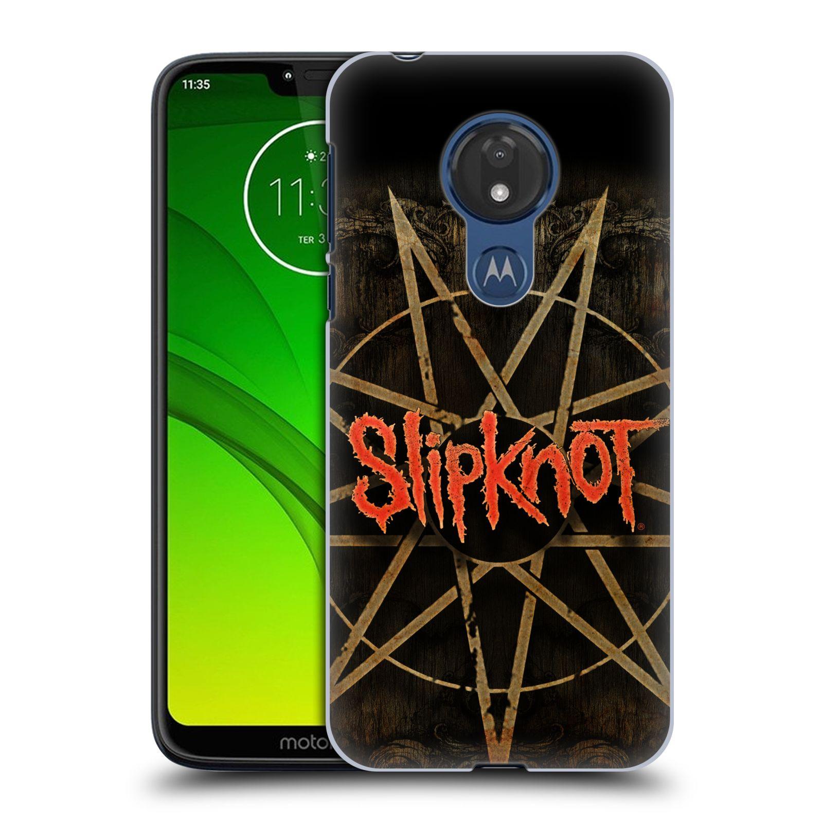 Plastové pouzdro na mobil Motorola Moto G7 Power - Head Case - Slipknot - Znak