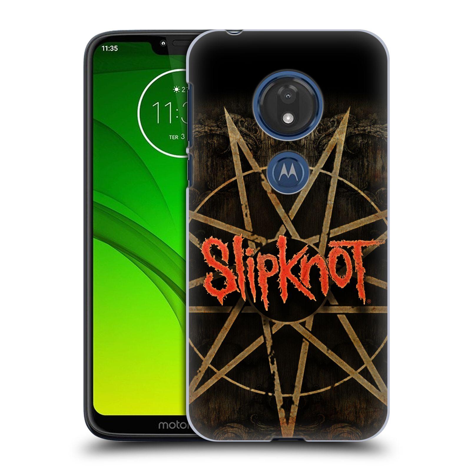 Plastové pouzdro na mobil Motorola Moto G7 Play - Head Case - Slipknot - Znak