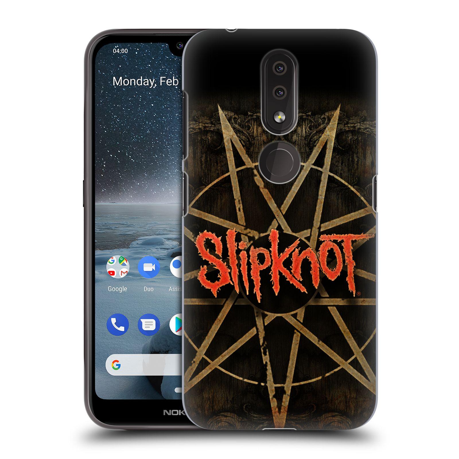 Plastové pouzdro na mobil Nokia 4.2 - Head Case - Slipknot - Znak