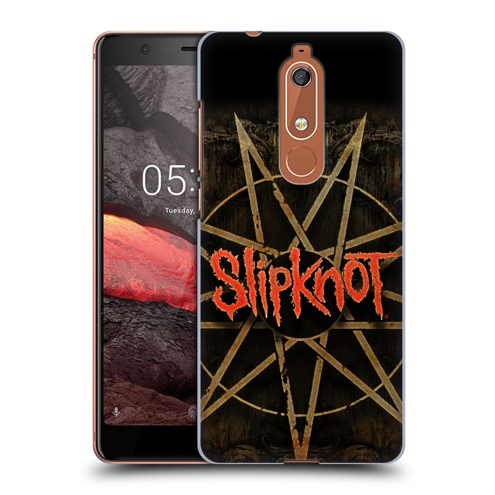 Plastové pouzdro na mobil Nokia 5.1 - Head Case - Slipknot - Znak