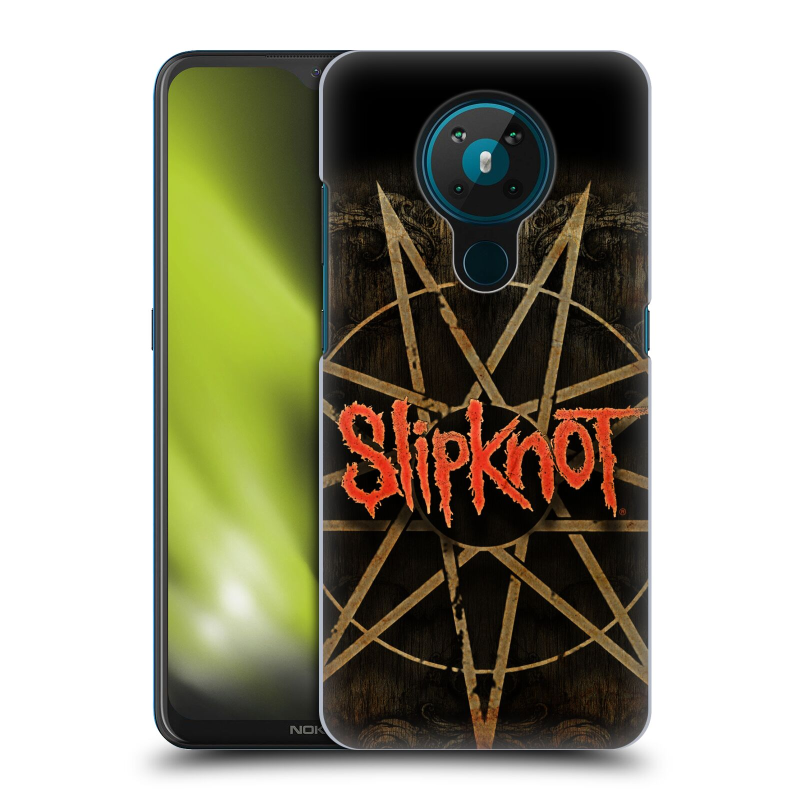Plastové pouzdro na mobil Nokia 5.3 - Head Case - Slipknot - Znak