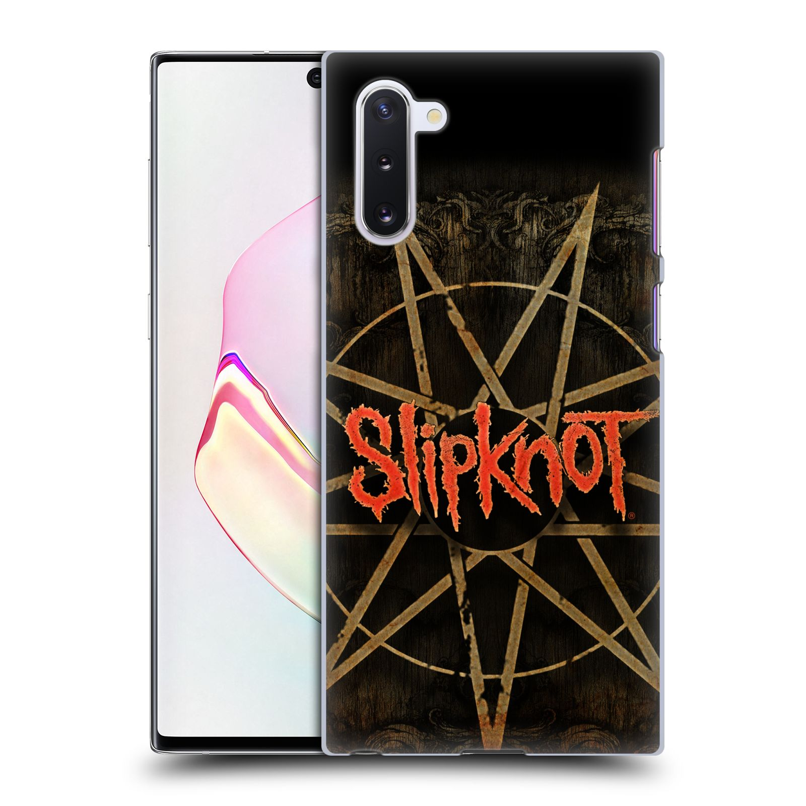 Plastové pouzdro na mobil Samsung Galaxy Note 10 - Head Case - Slipknot - Znak