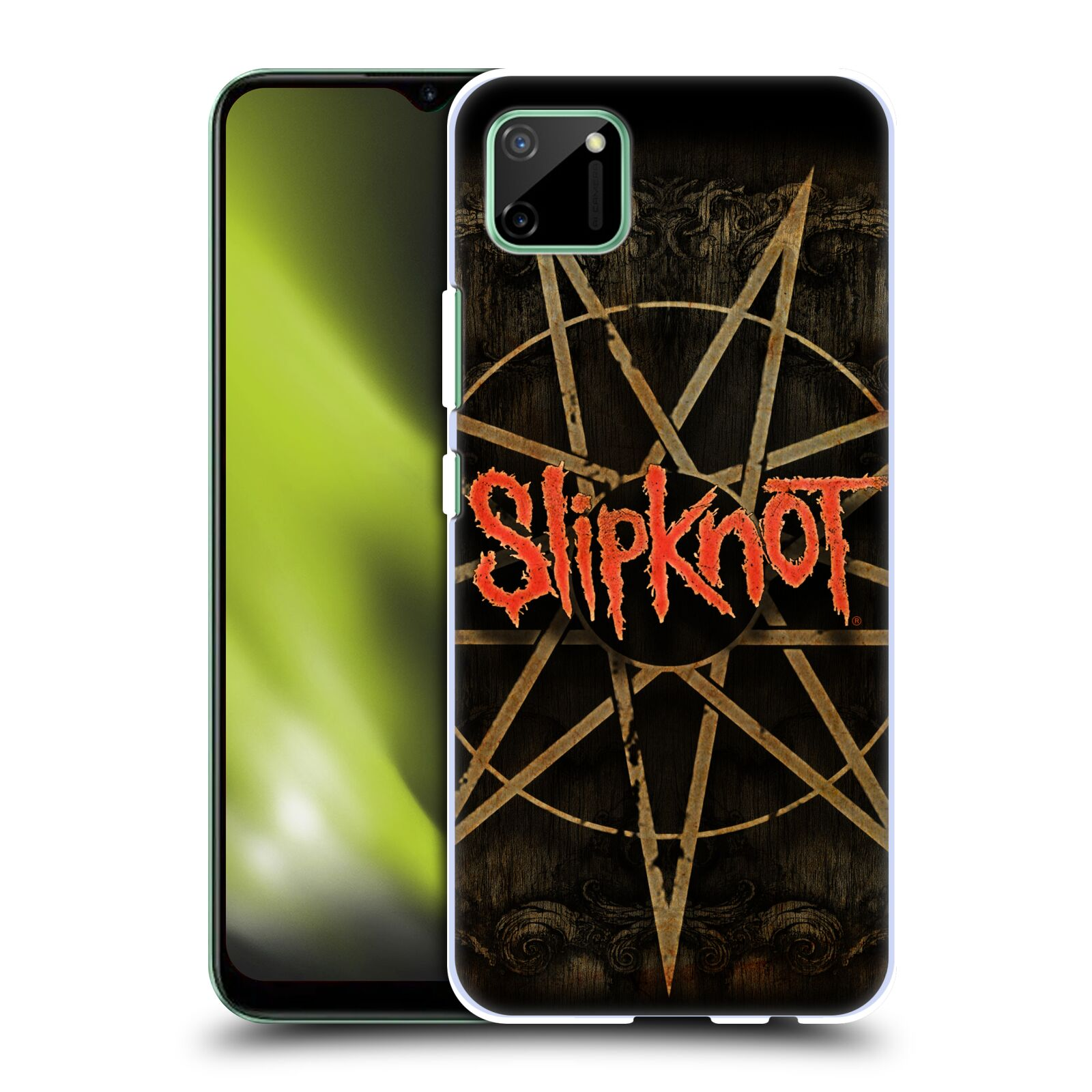 Plastové pouzdro na mobil Realme C11 - Head Case - Slipknot - Znak