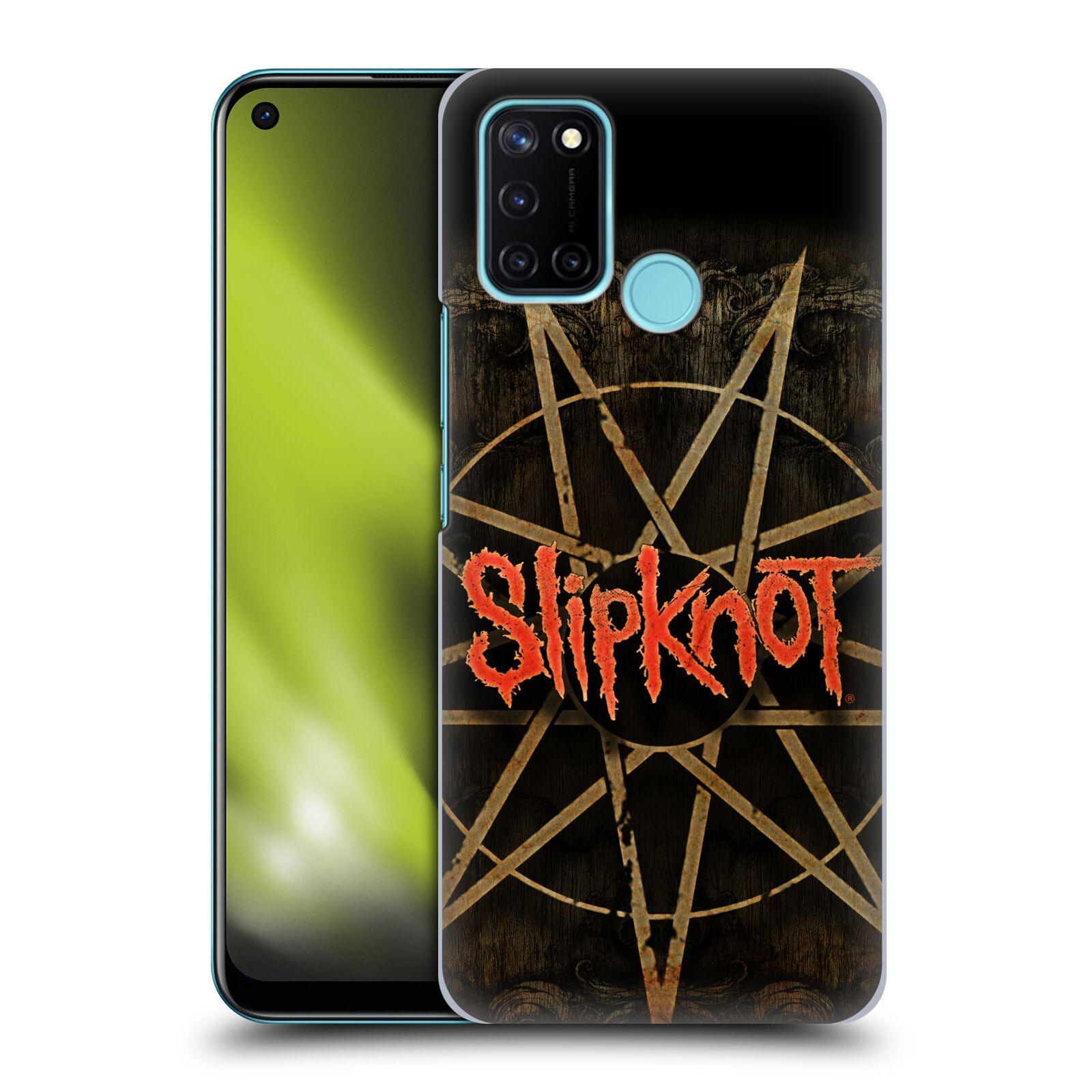 Plastové pouzdro na mobil Realme 7i - Head Case - Slipknot - Znak
