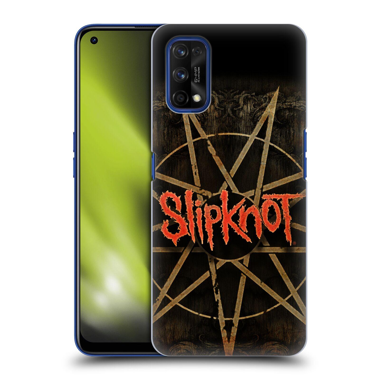 Plastové pouzdro na mobil Realme 7 Pro - Head Case - Slipknot - Znak