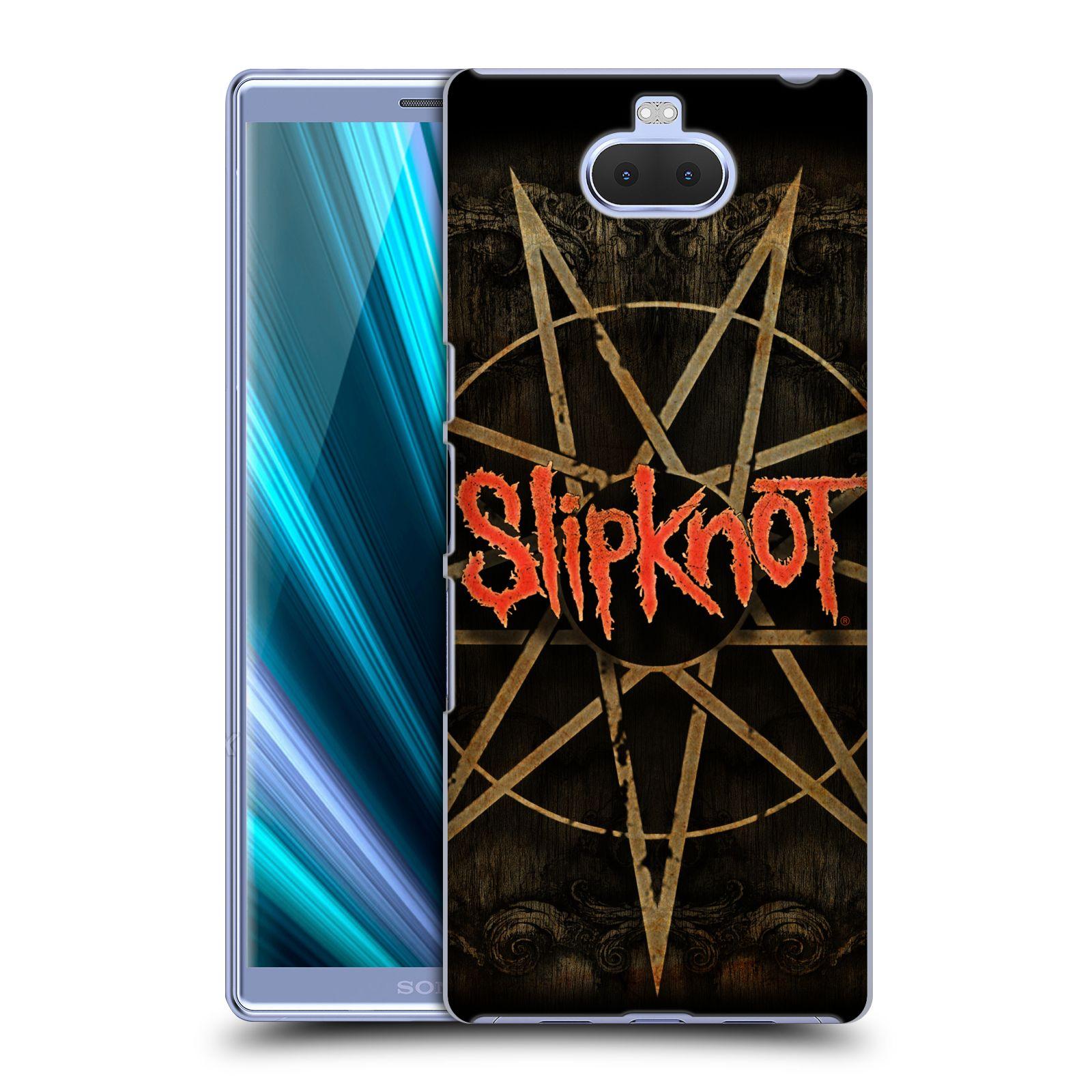 Plastové pouzdro na mobil Sony Xperia 10 - Head Case - Slipknot - Znak