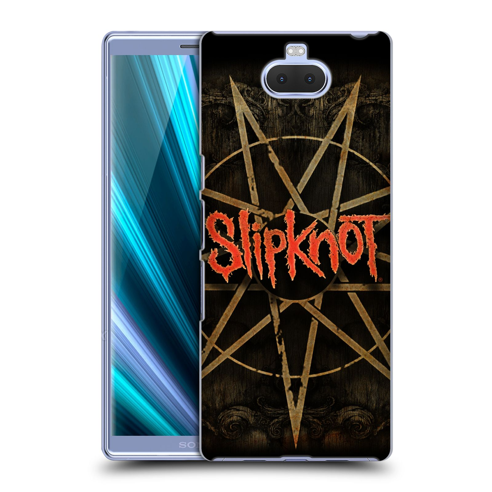Plastové pouzdro na mobil Sony Xperia 10 Plus - Head Case - Slipknot - Znak
