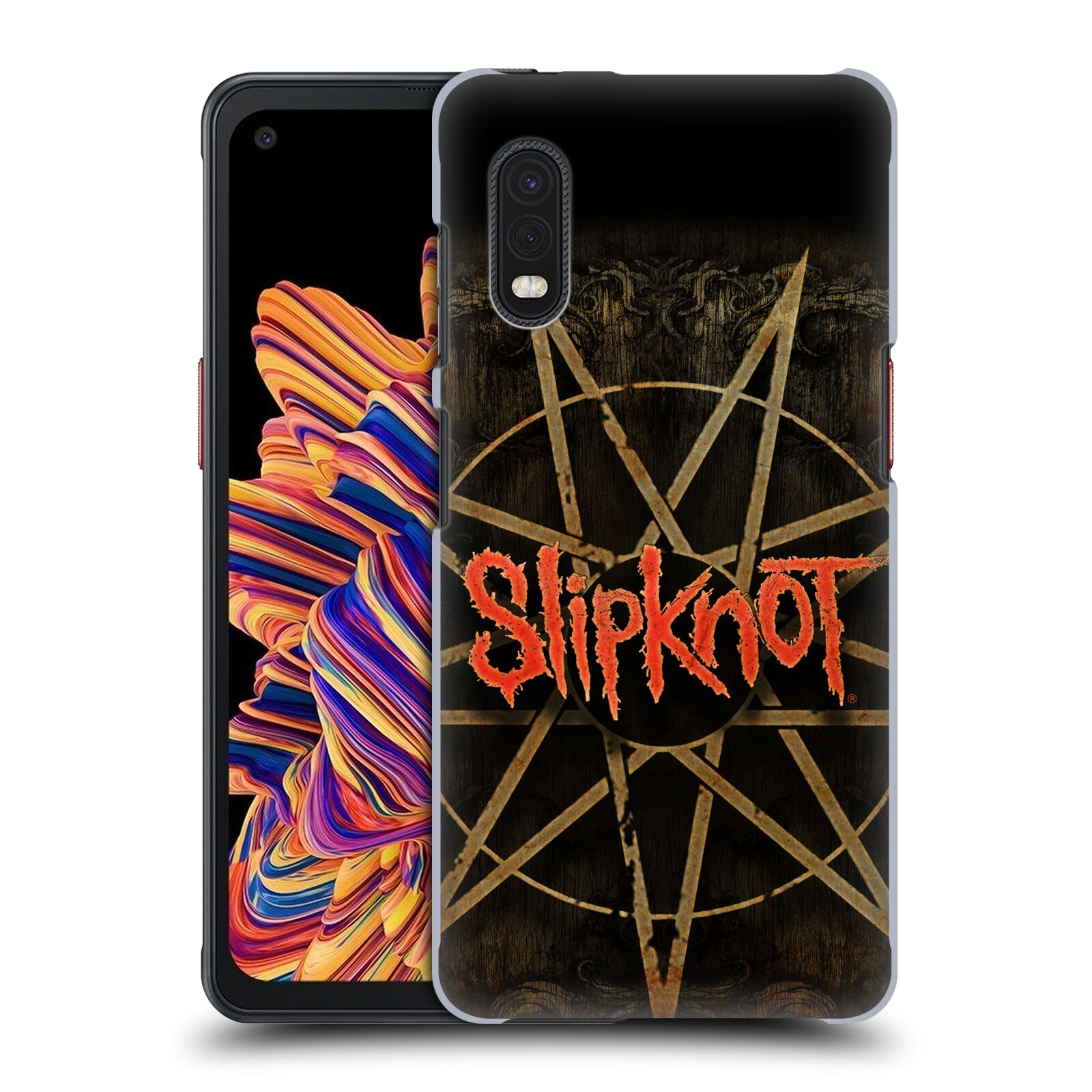 Plastové pouzdro na mobil Samsung Galaxy Xcover Pro - Head Case - Slipknot - Znak