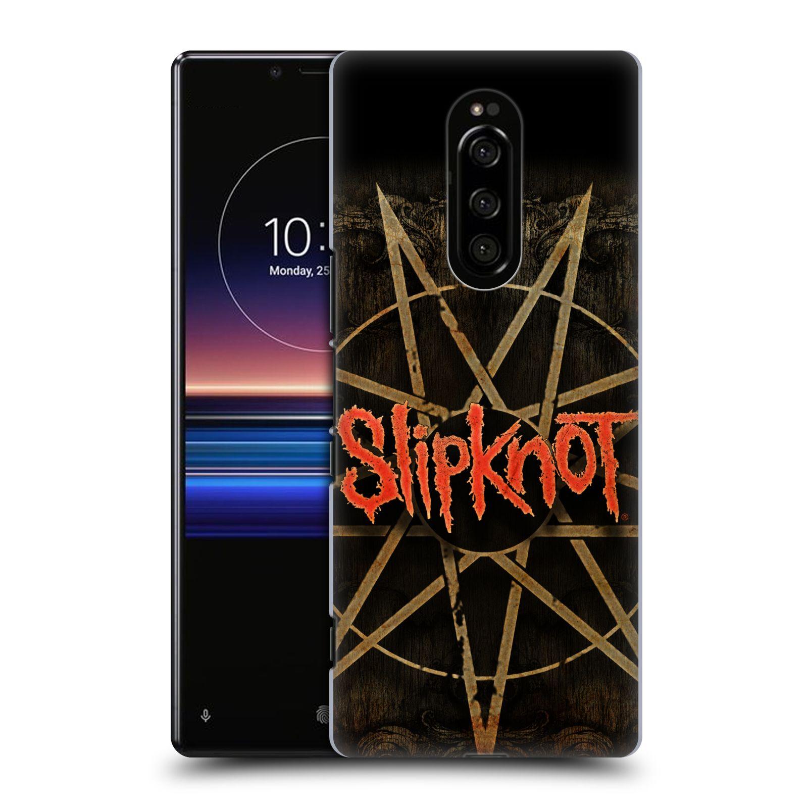 Plastové pouzdro na mobil Sony Xperia 1 - Head Case - Slipknot - Znak