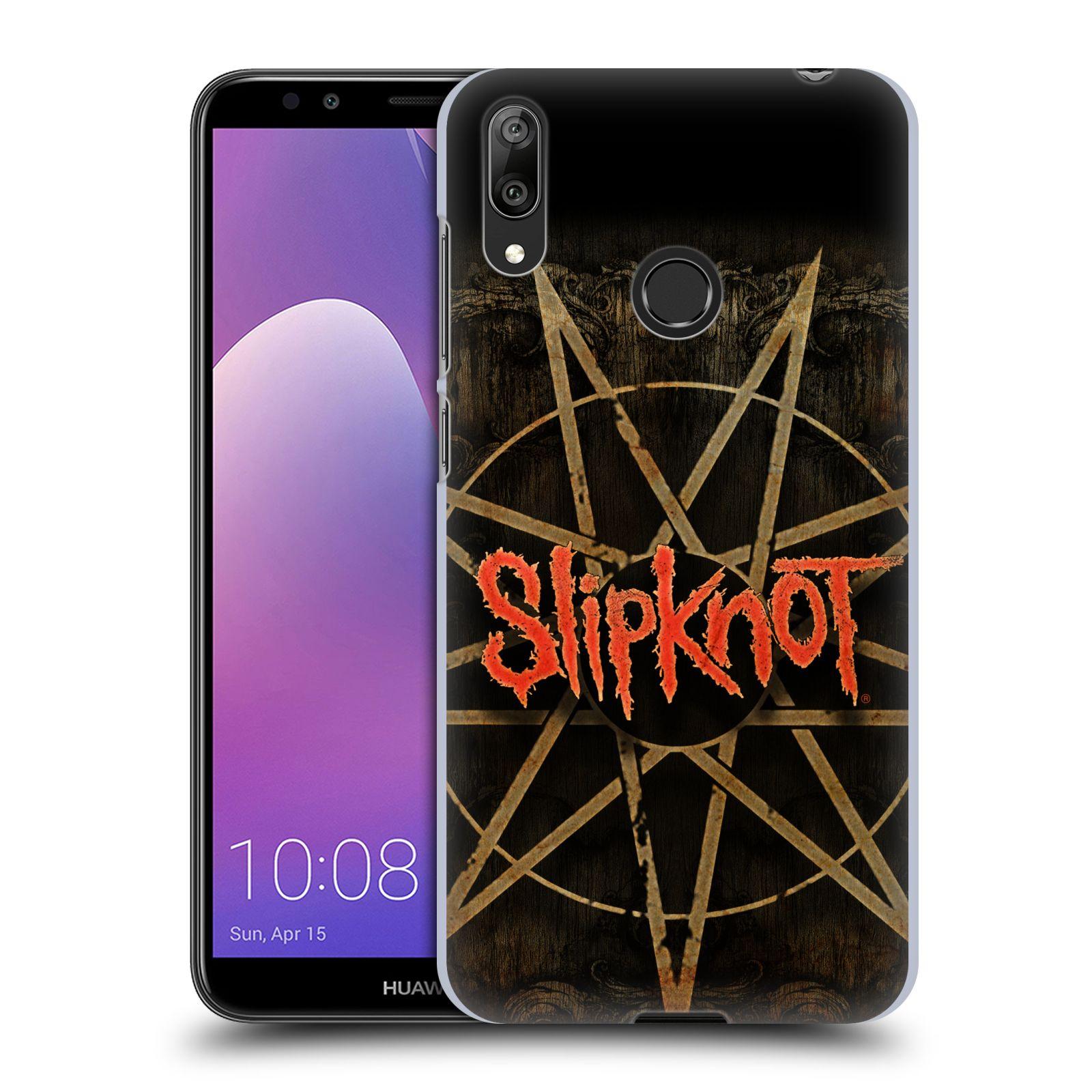 Plastové pouzdro na mobil Huawei Y7 (2019) - Head Case - Slipknot - Znak