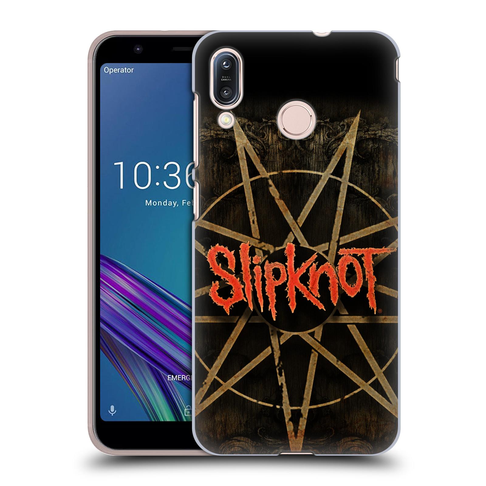 Plastové pouzdro na mobil Asus Zenfone Max M1 ZB555KL - Head Case - Slipknot - Znak