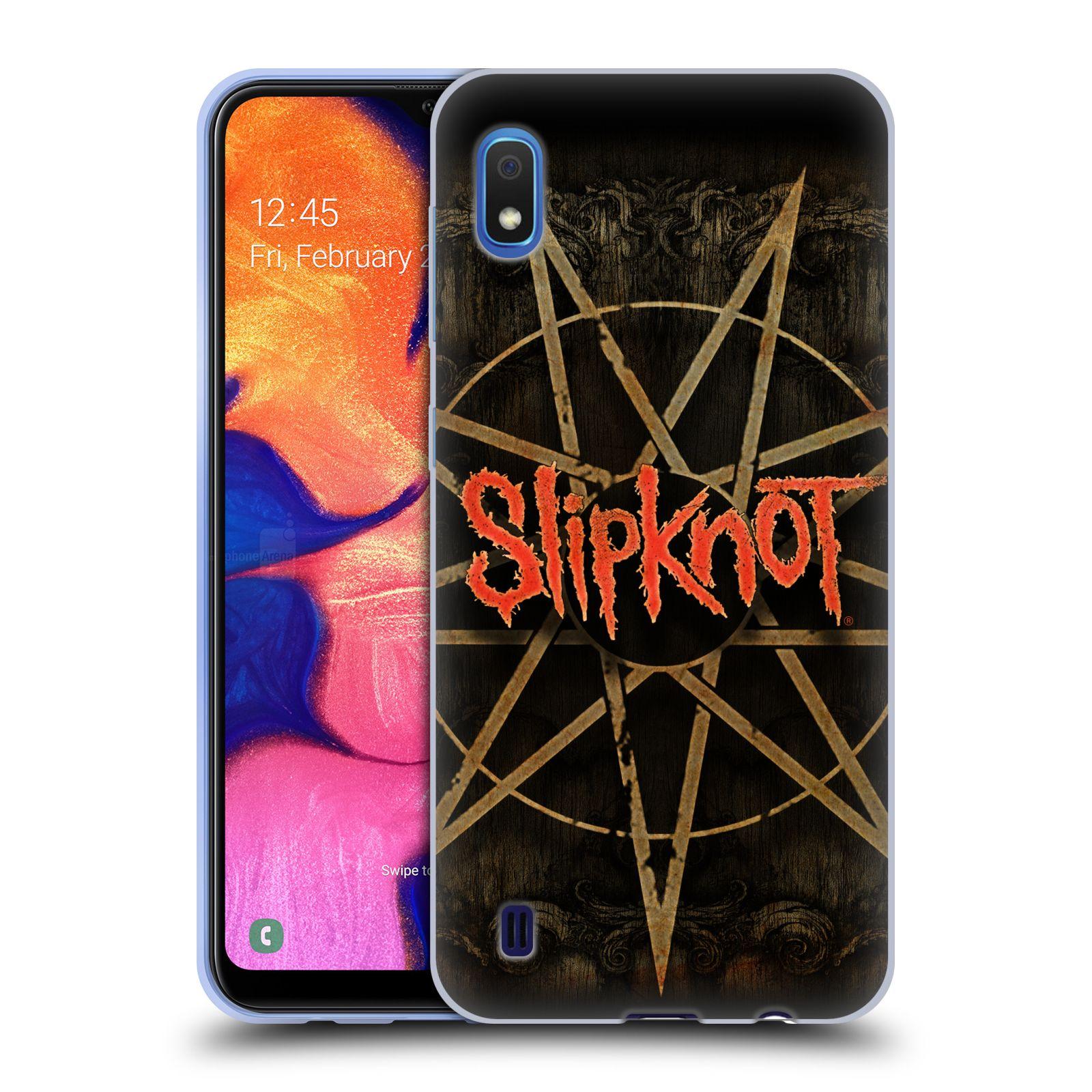 Silikonové pouzdro na mobil Samsung Galaxy A10 - Head Case - Slipknot - Znak