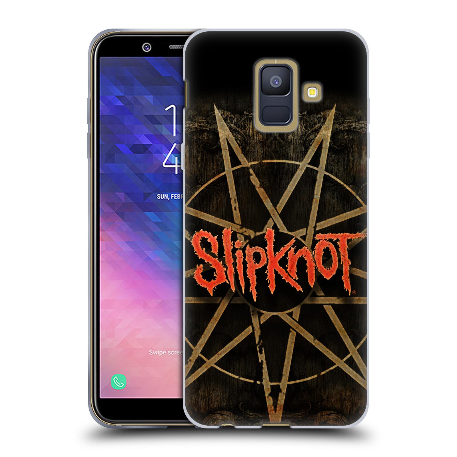 Silikonové pouzdro na mobil Samsung Galaxy A6 (2018) - Head Case - Slipknot - Znak